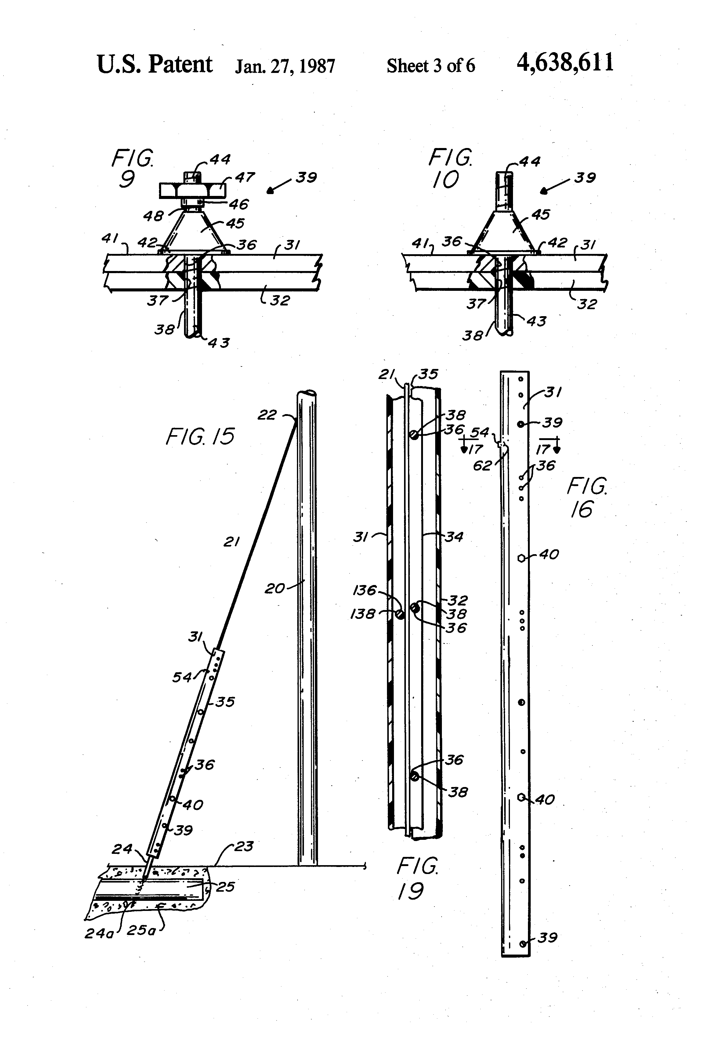 power pole guy wire anchors