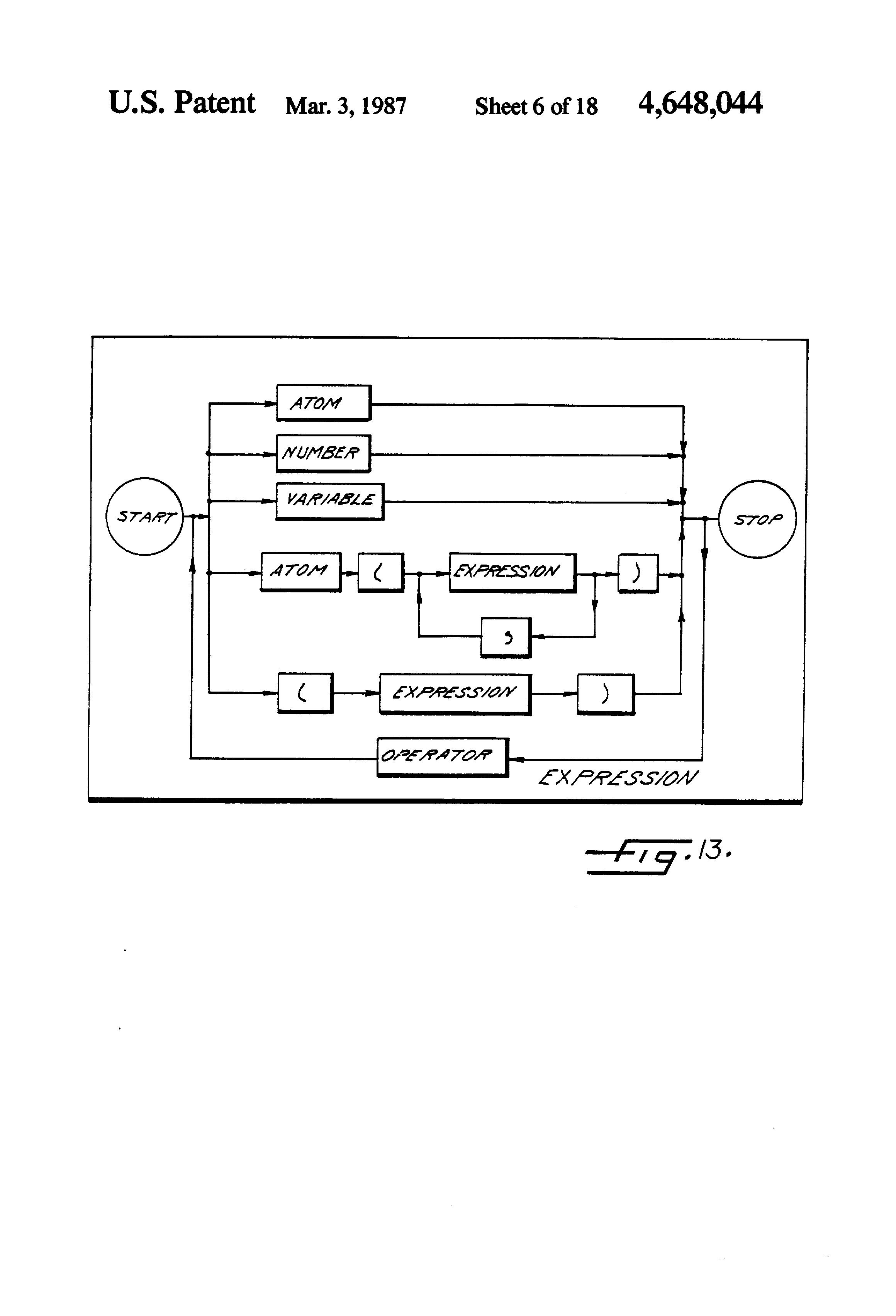 patent us4648044 - basic expert system tool