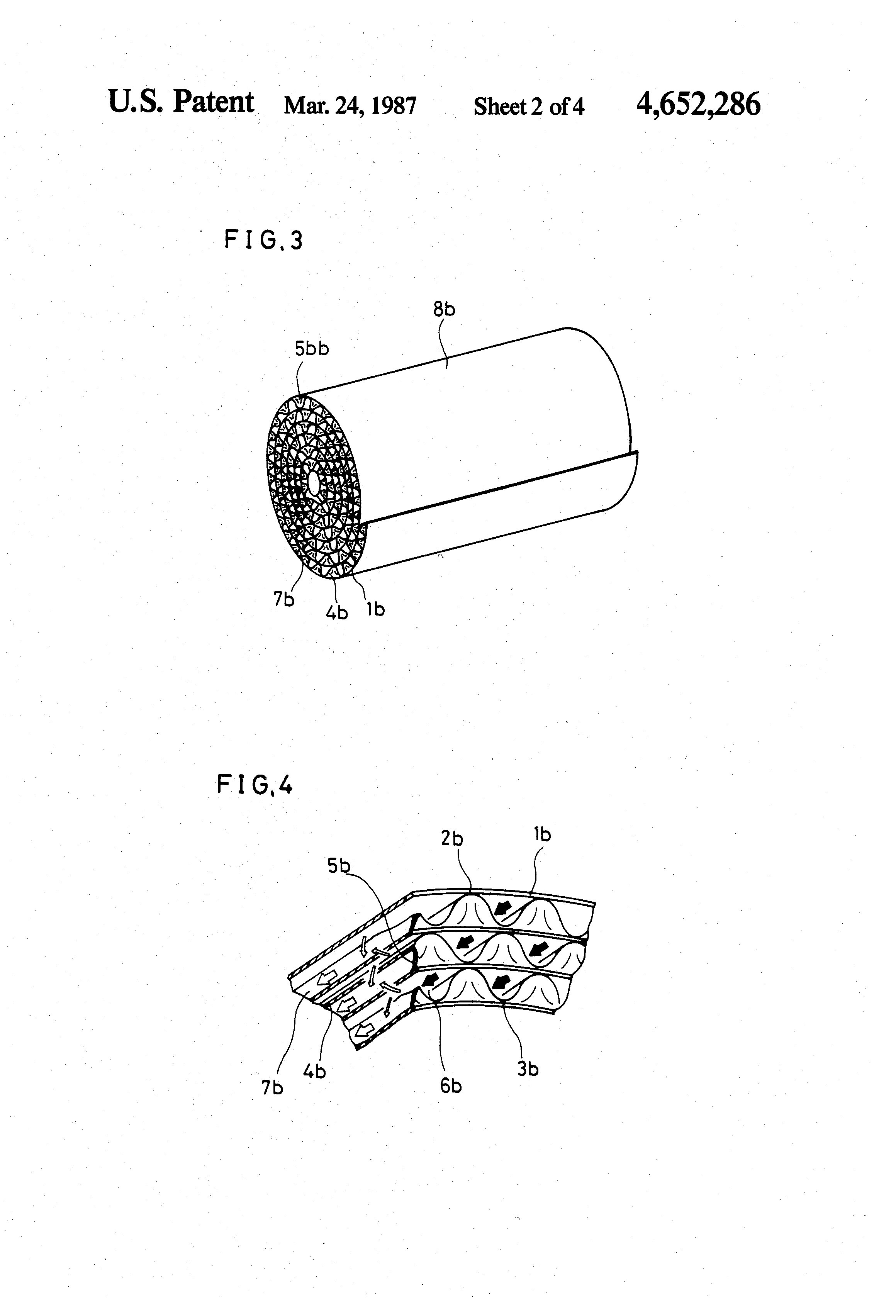 patent us4652286 - exhaust gas filter