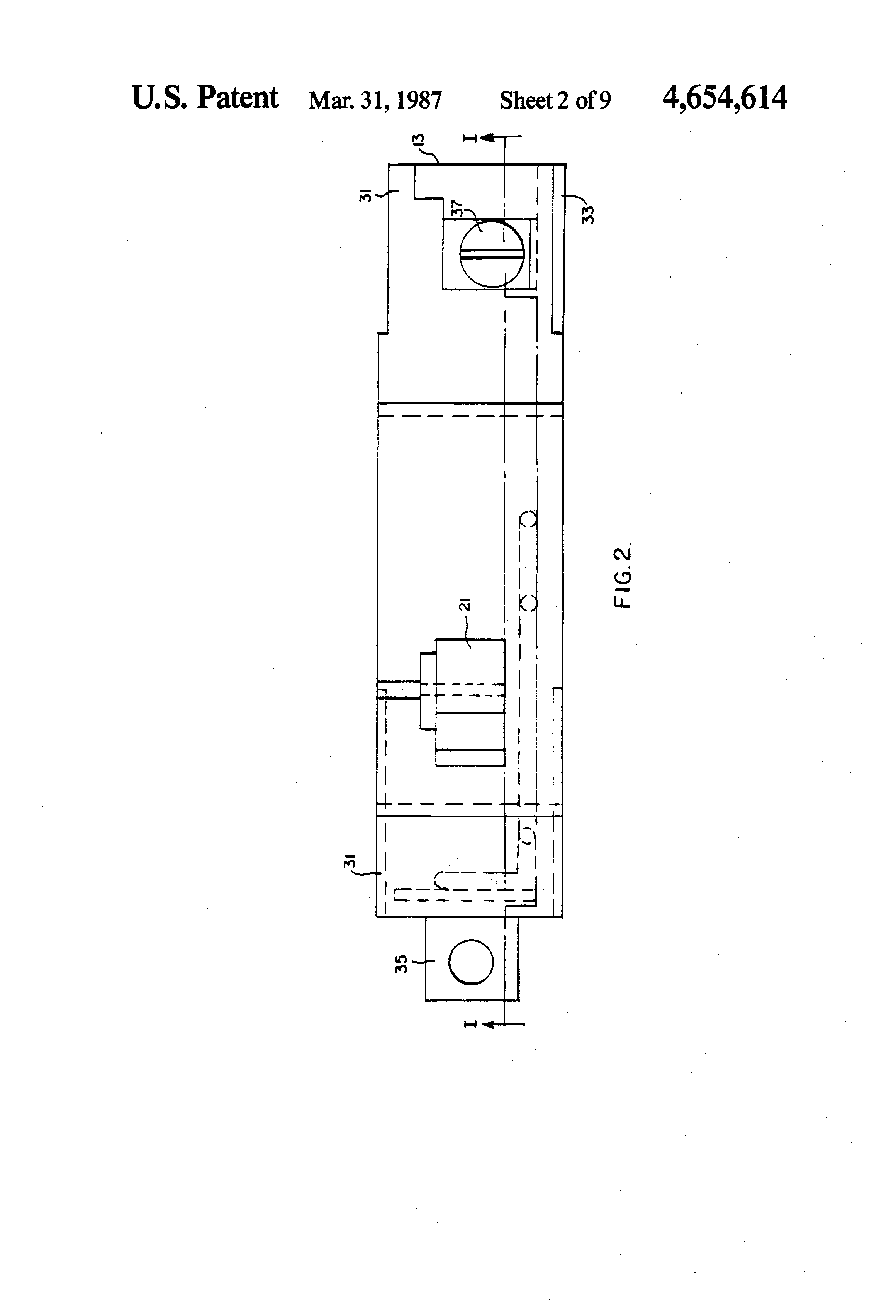 patent us4654614 - current limiting solenoid operated circuit breaker