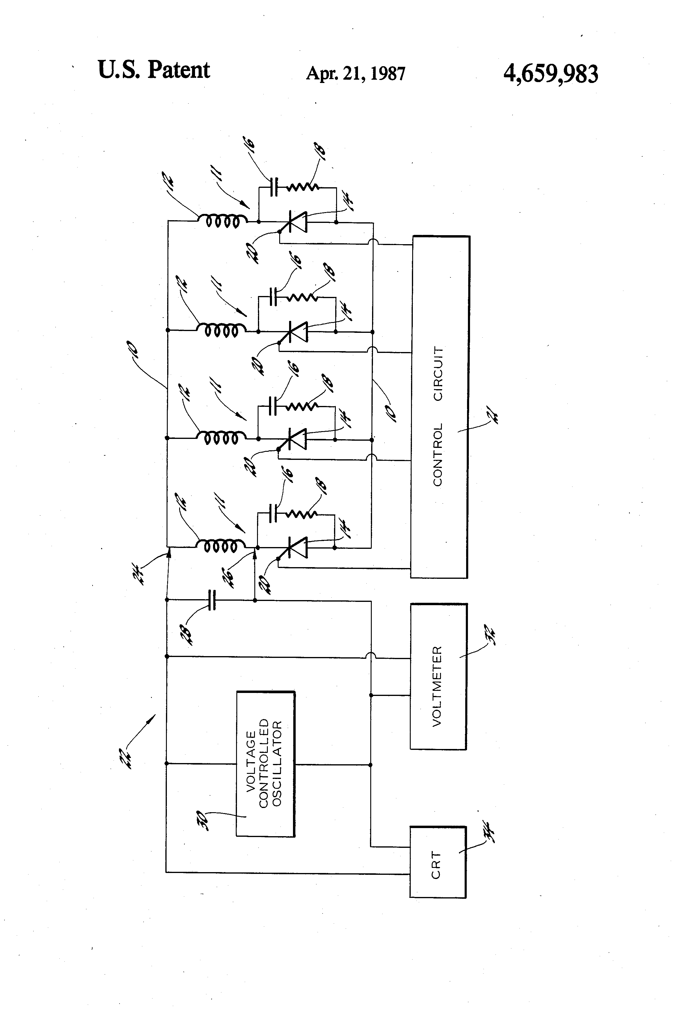 Patent Us4659983 Method And Apparatus For Detecting A Shorted Scr Snubber Circuit Triac The Could Be Drawing