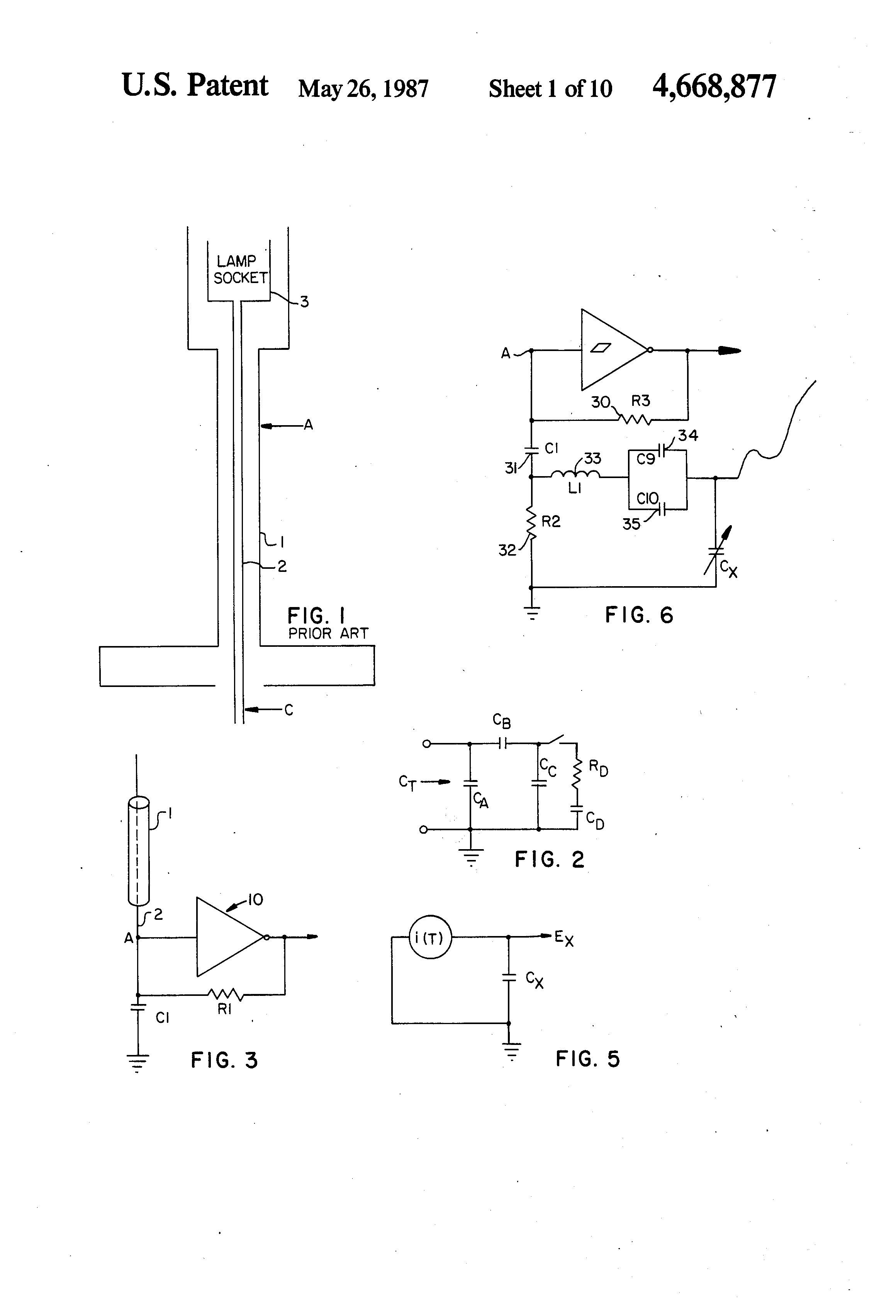 US4668877 1 patent us4668877 touch controlled switch for a lamp or the like touch lamp wiring diagram at reclaimingppi.co