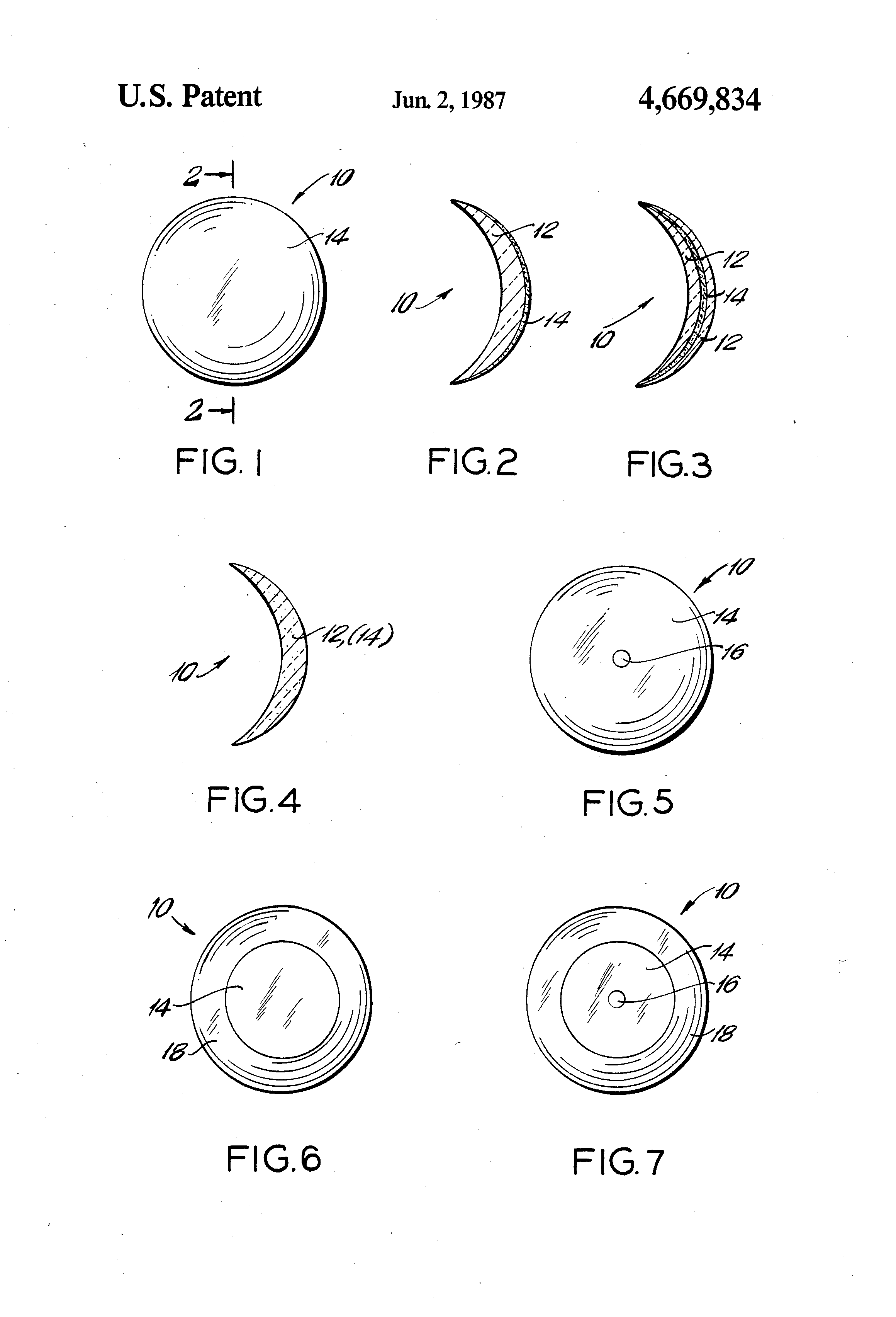 Patent US4669834 - Light reflective contact lens - Google ...