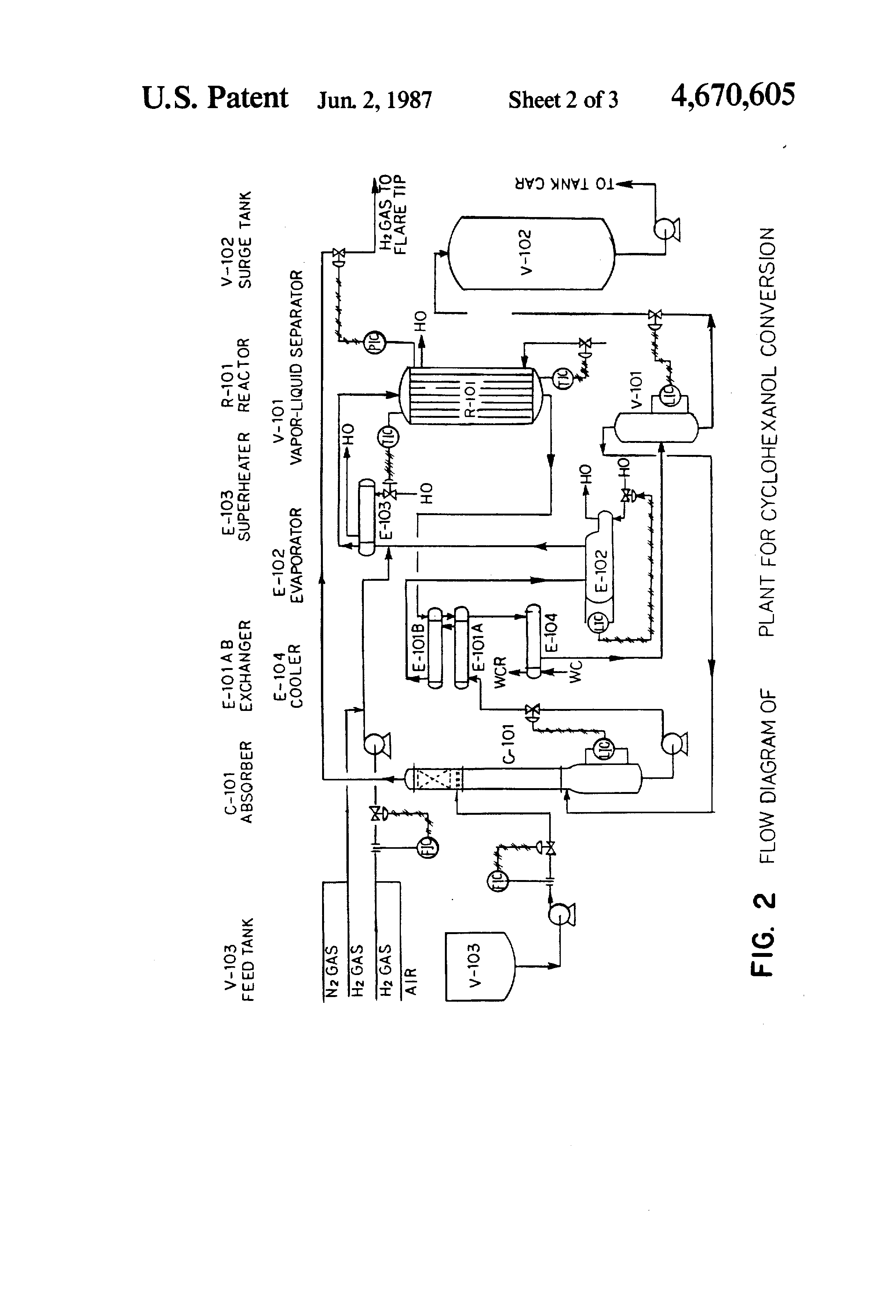 patent us4670605