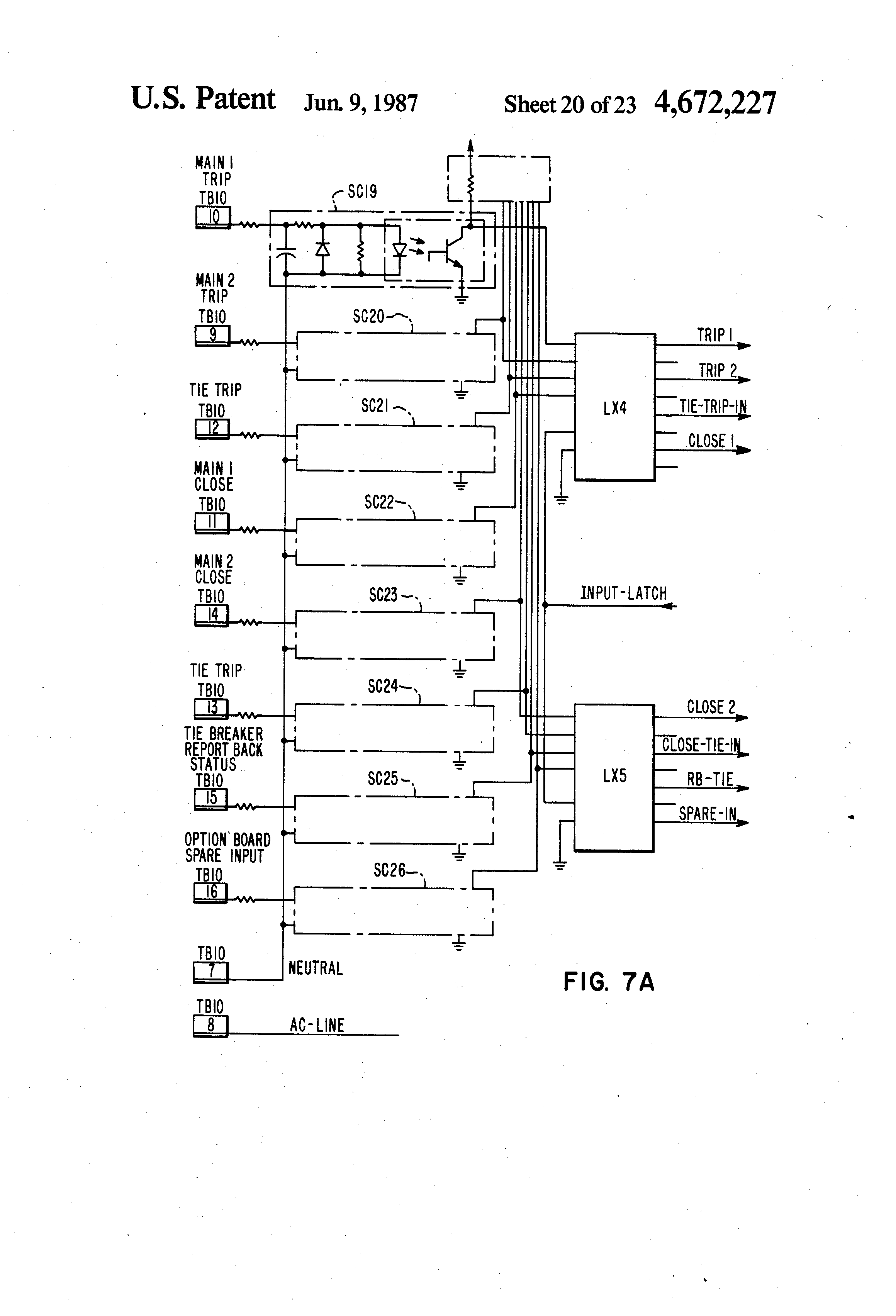 Patent US Automatic Transfer Switch With Delay Google - Two coil latching relay