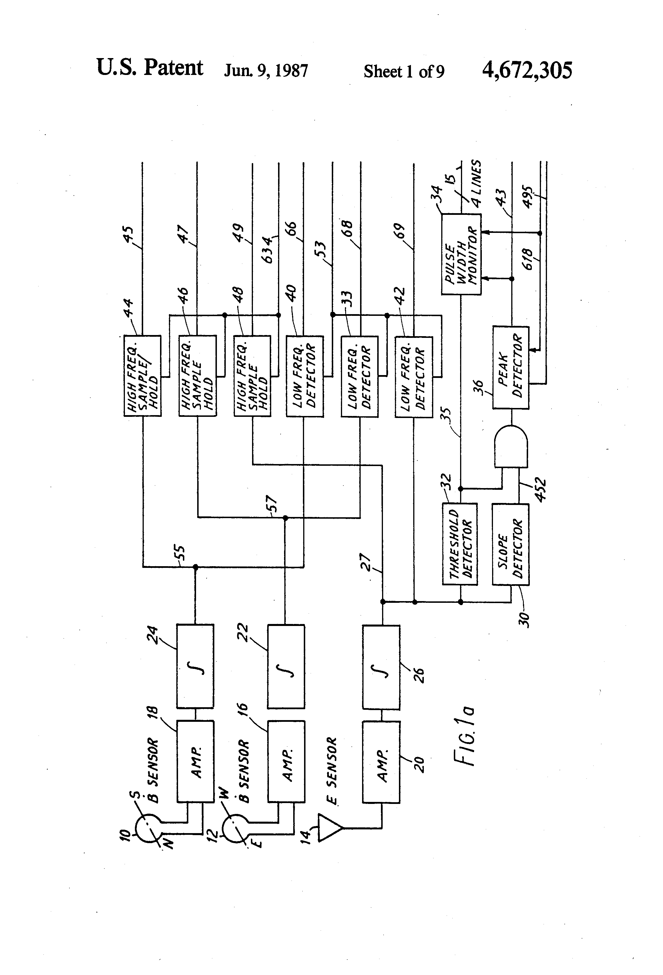 Patent Us4672305 Storm Warning Method And Apparatus Google Patents Ac Dc Converter Circuit Diagram Composed Of Ad536 Is Shown As The Drawing
