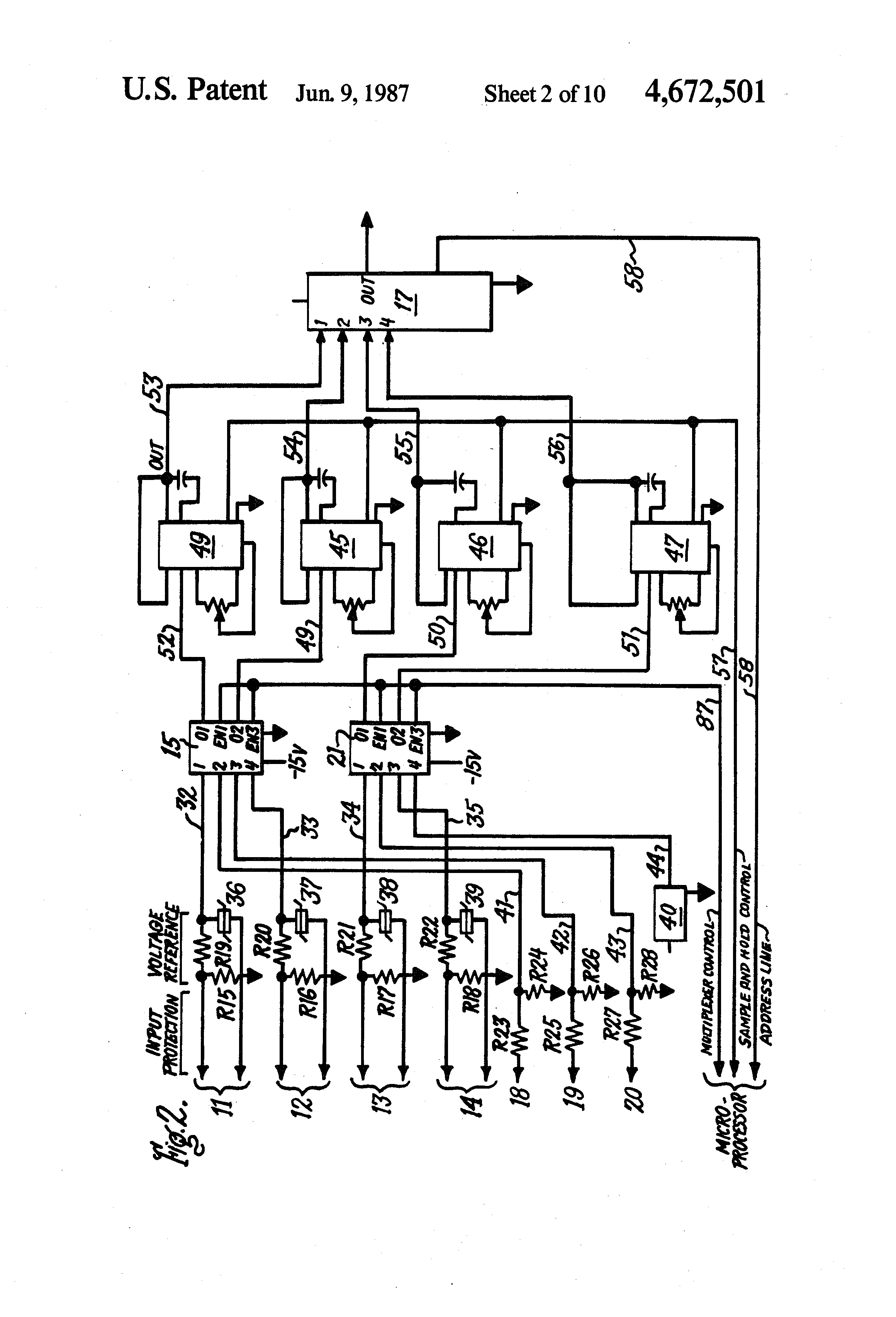 patent us4672501 - circuit breaker and protective relay unit