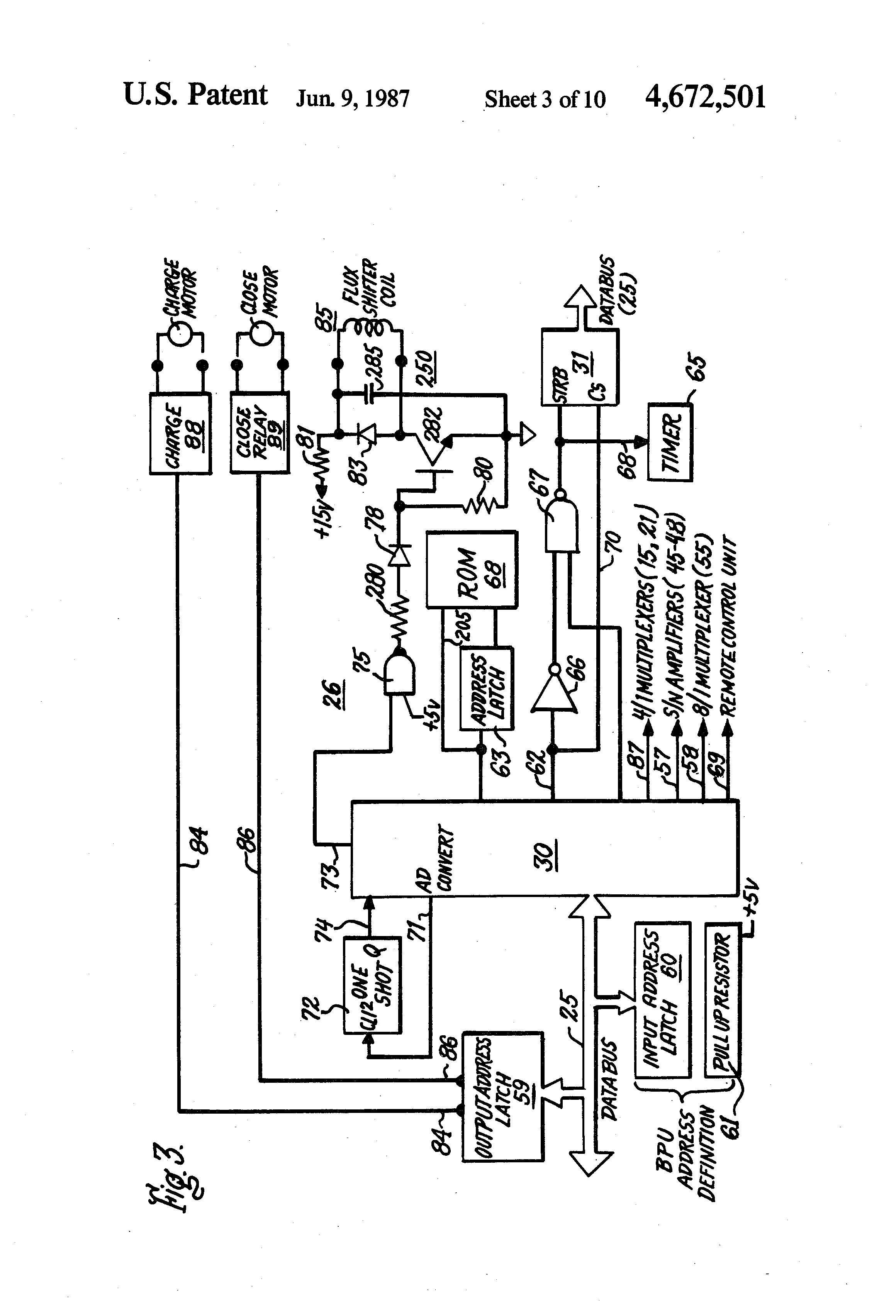 Patent US Circuit Breaker And Protective Relay Unit - Protection relays and circuit breakers