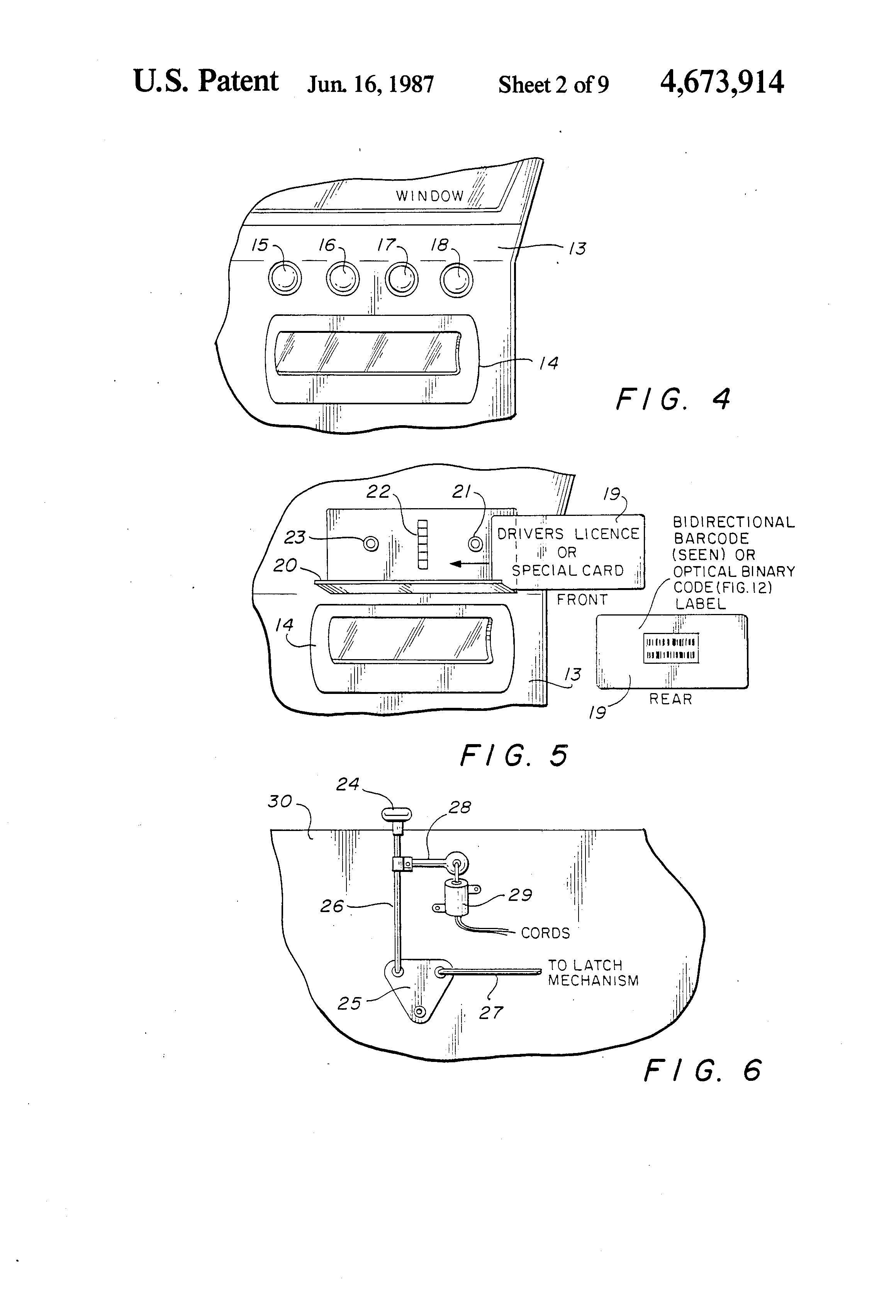 patent us4673914  unlock