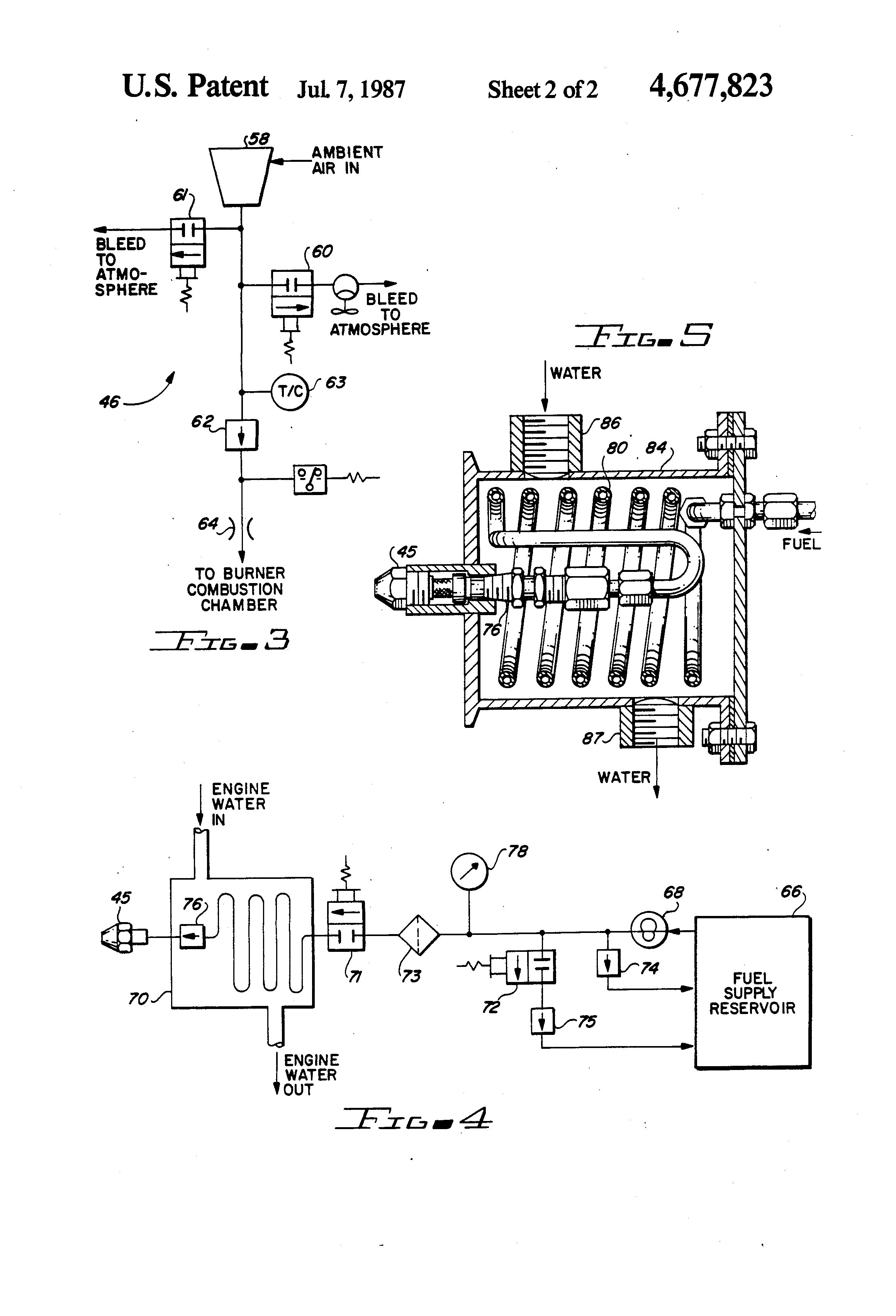 burner combustion controls