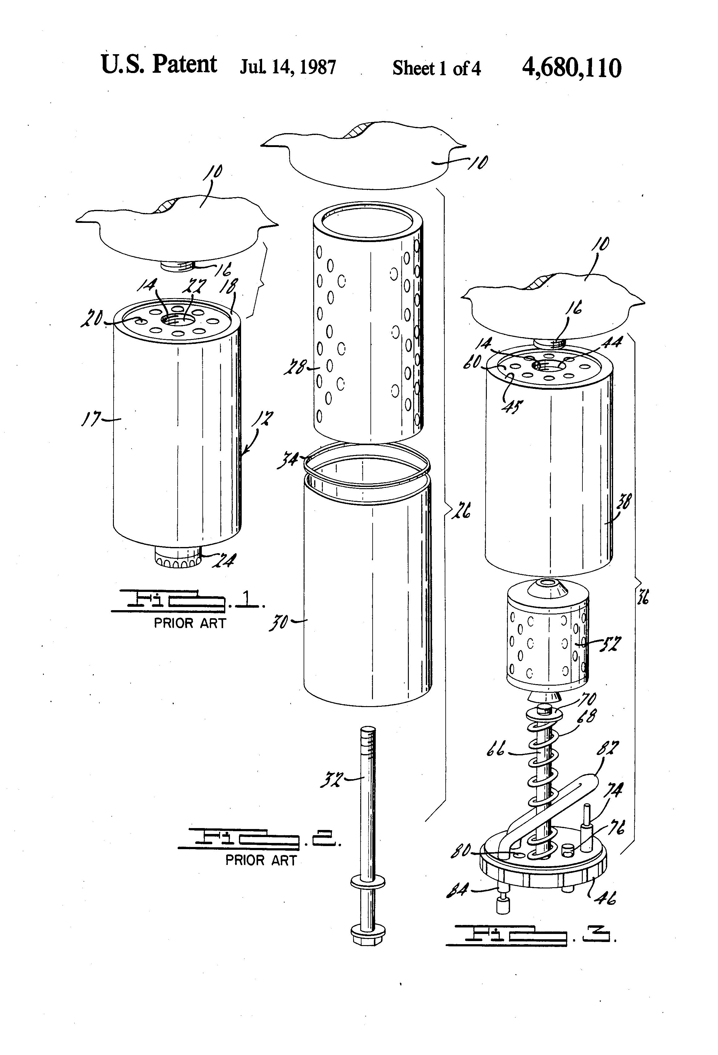 patent us4680110