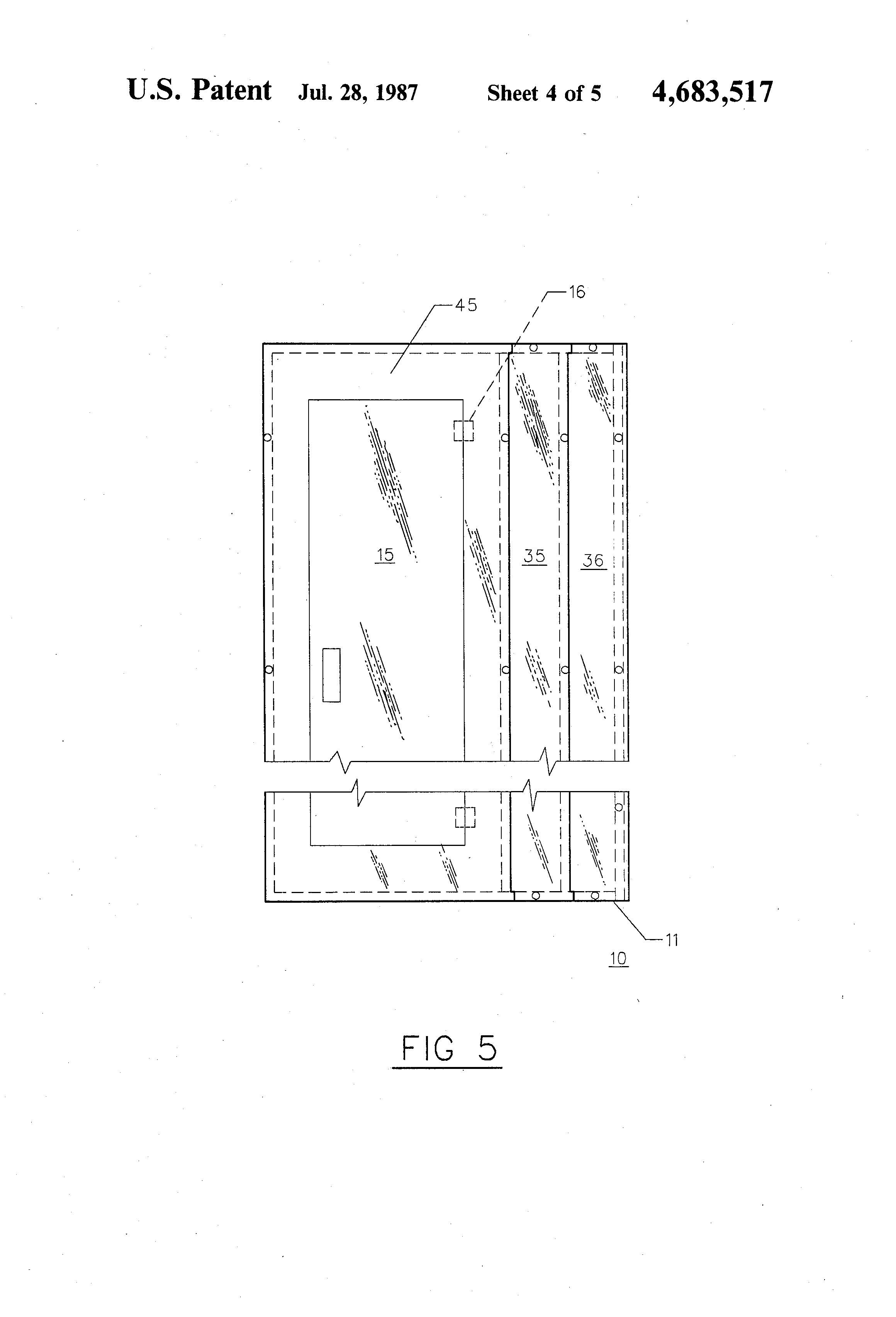 US4683517 4 patent us4683517 integrated lighting panelboard and wiring  at eliteediting.co