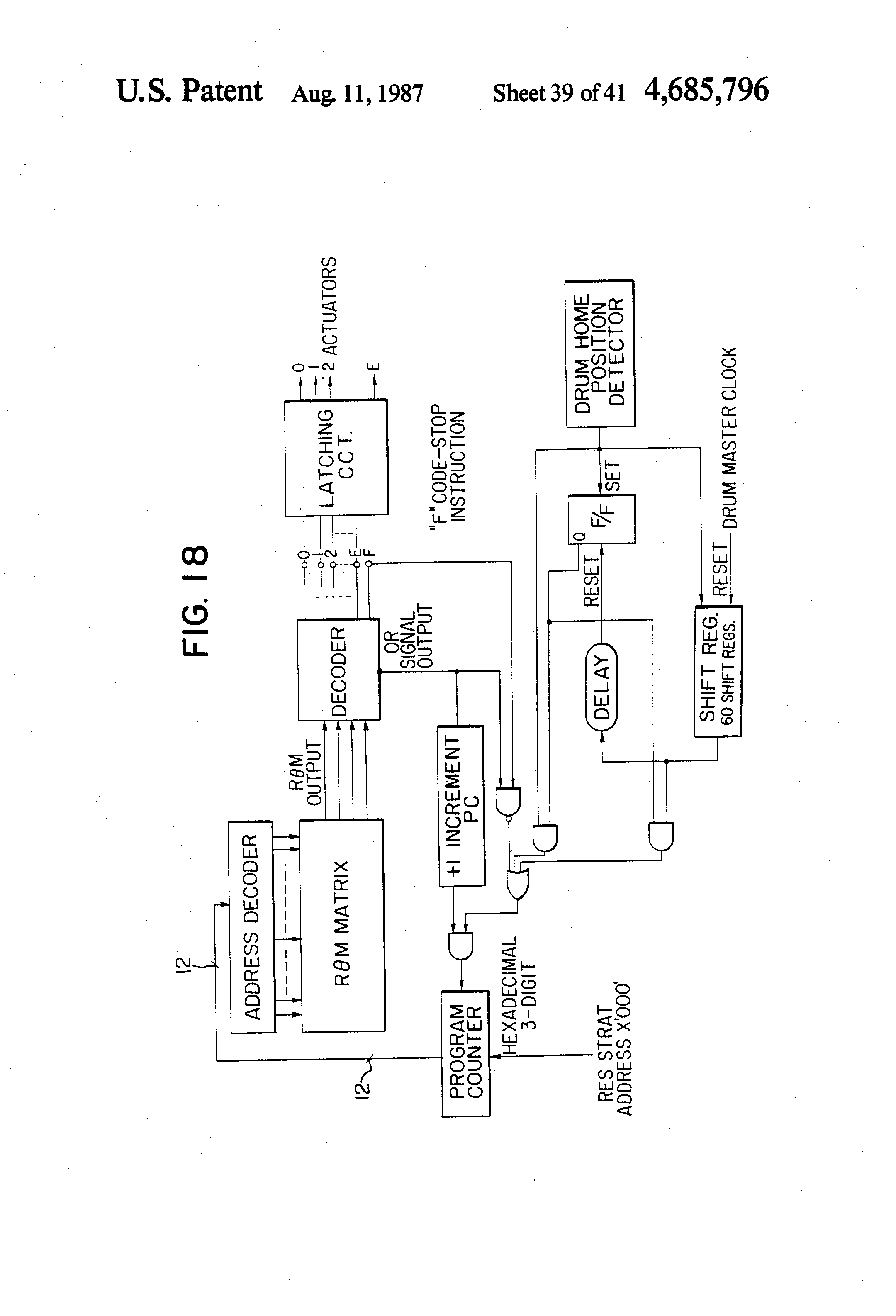 Brevet Us4685796 Apparatus For Controlling Image Formation Sl1 Series Photoelectric Sensors Wiring Diagrams Patent Drawing