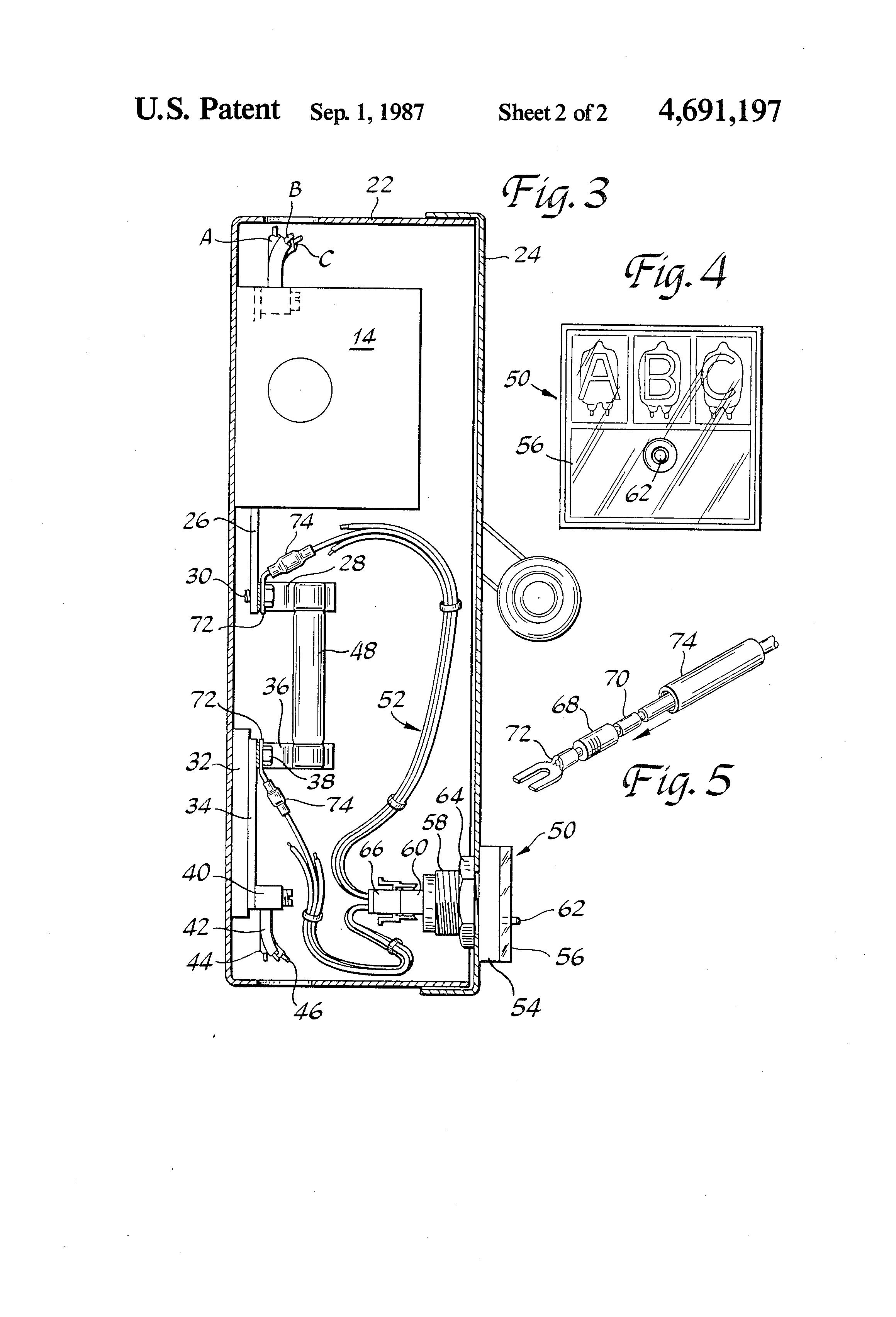 patent us4691197 - blown fuse indicator