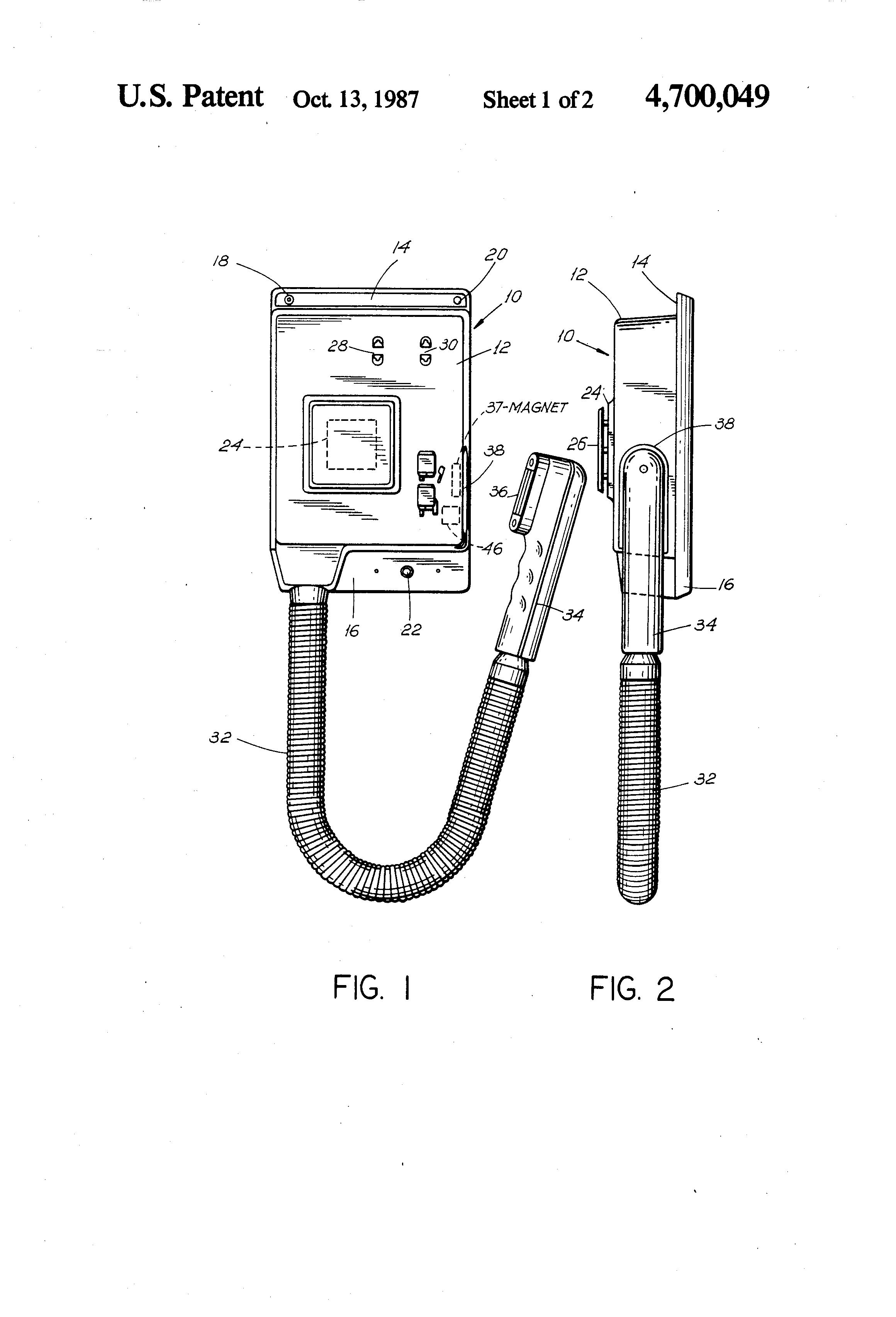 patent us4700049