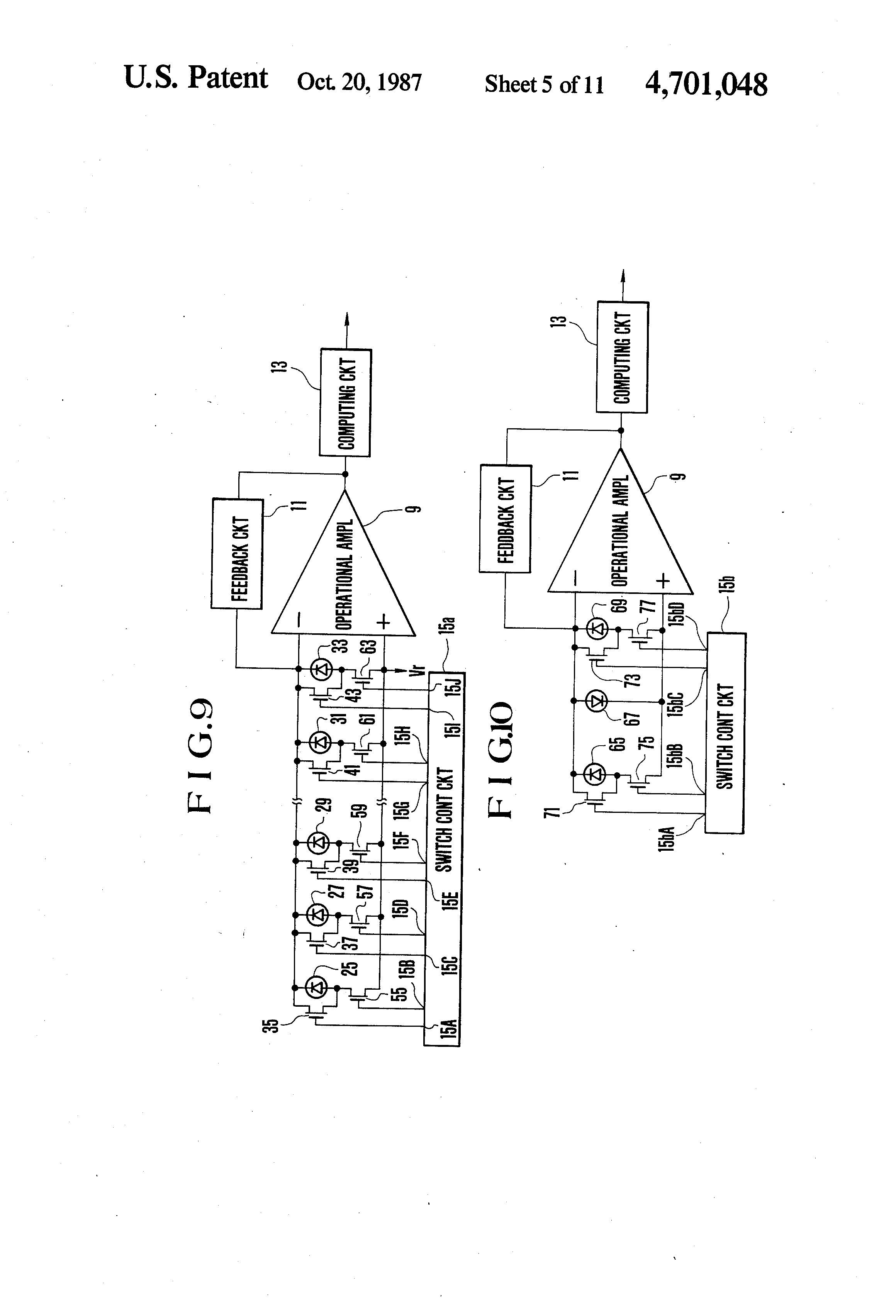 Patente Us4701048 Input Circuit For Distance Measuring Apparatus Bat Detector No3 Schematic Patent Drawing