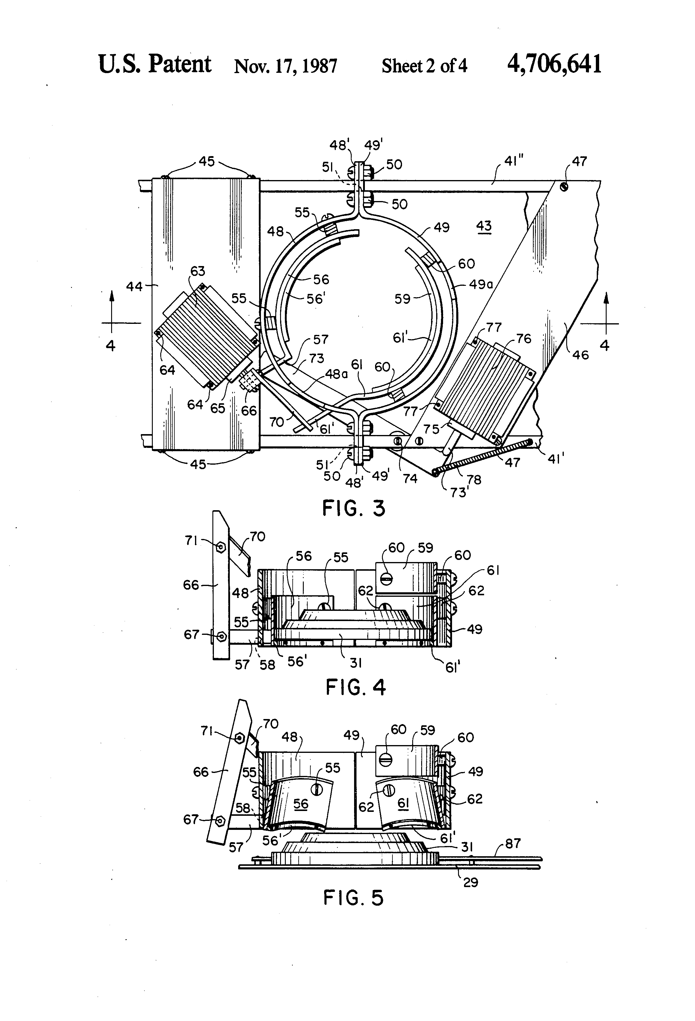 US4706641 2 patent us4706641 automatic clay target feeder attachment for laporte traps wiring diagram at bayanpartner.co