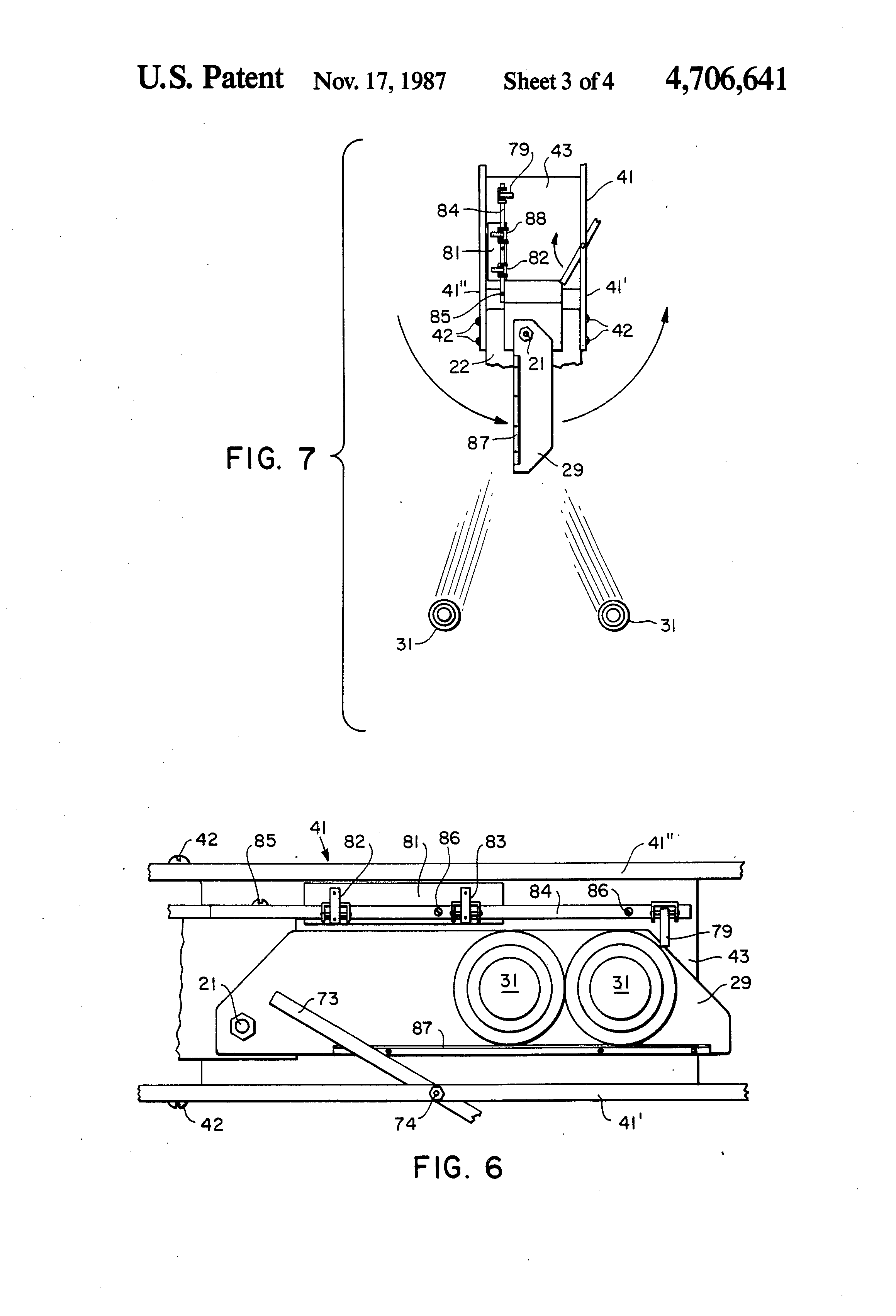 US4706641 3 patent us4706641 automatic clay target feeder attachment for laporte traps wiring diagram at bayanpartner.co