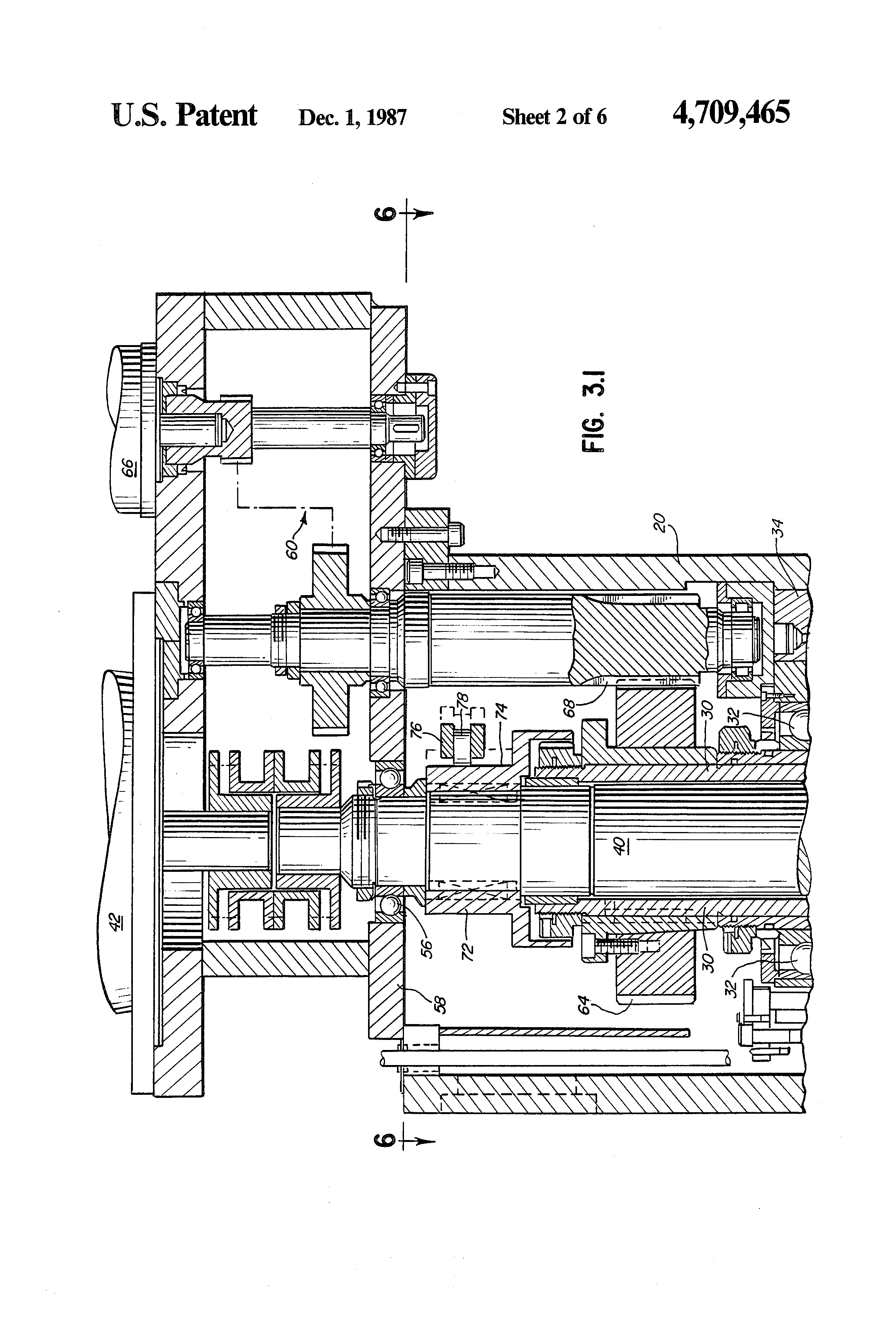 patent us4709465 - interchangeable spindle-head milling system