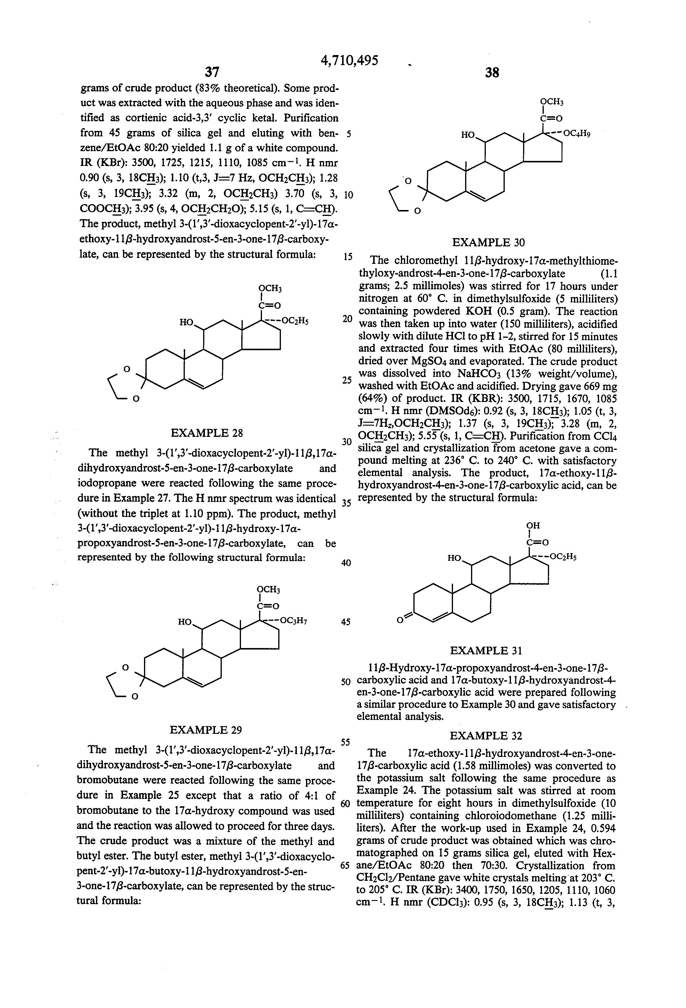 polyhydroxy steroids