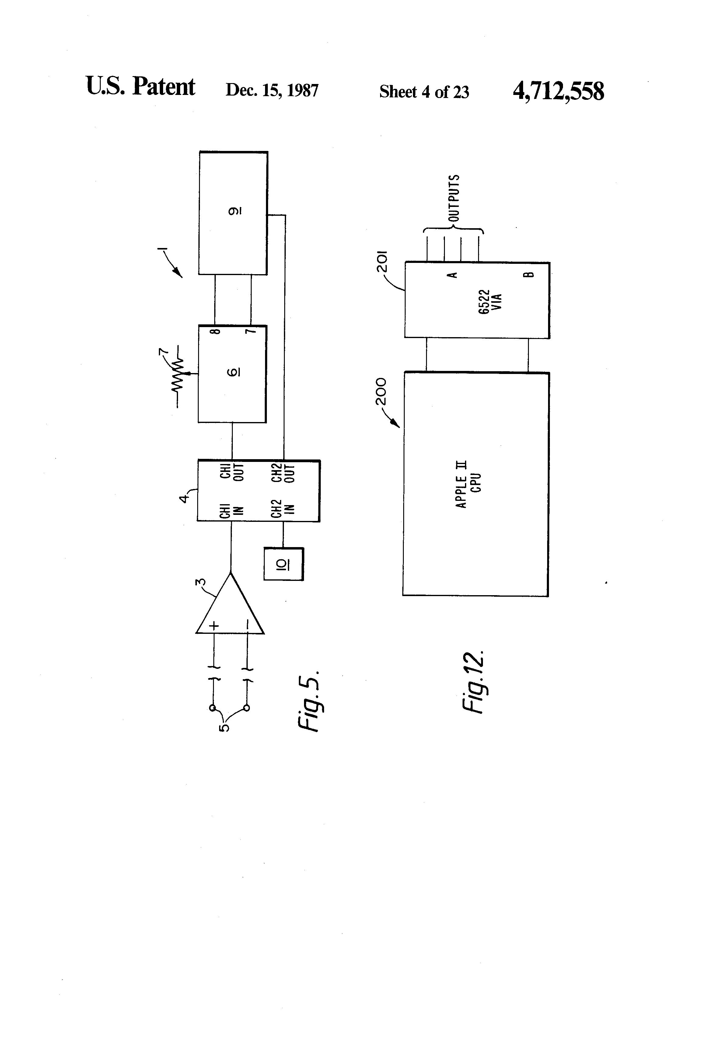 patent us4712558