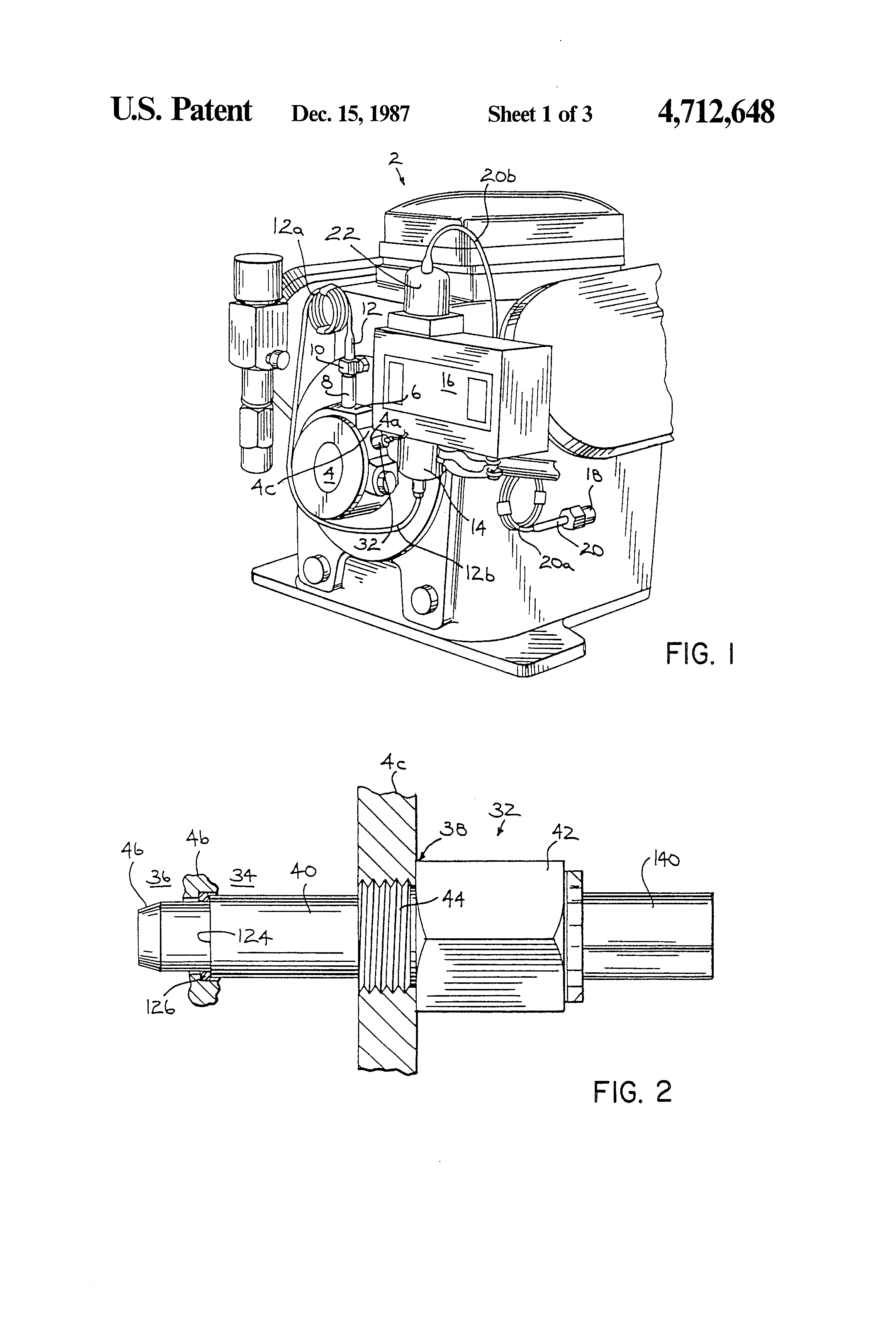 patent us4712648 - dual magnetic coil driver and monitor sensor circuit