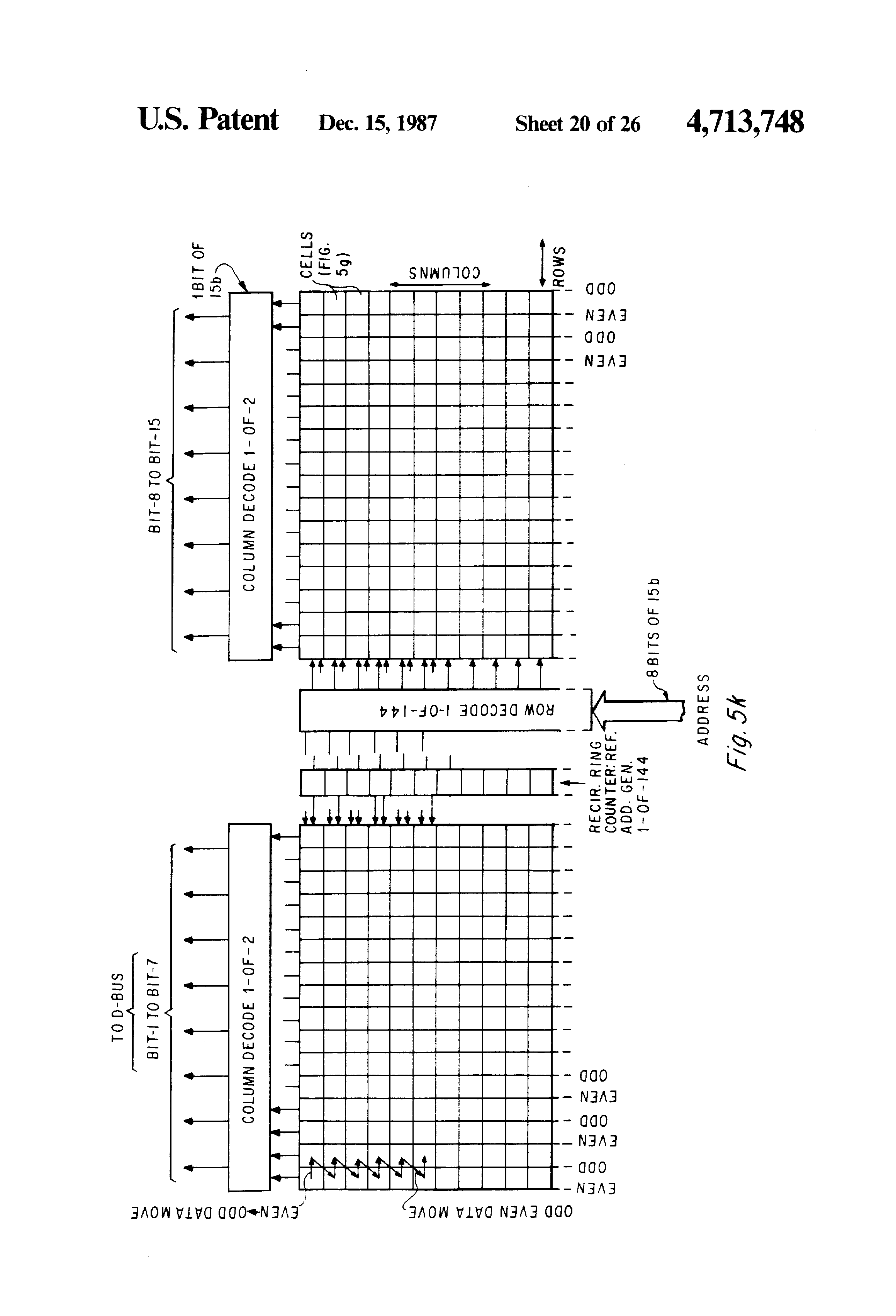 Patent Us4713748 Microprocessor With Block Move Instruction Metadata Management Architecture Diagram Microprocessor 8085 Book On Block Diagram 8085 Microprocessor For Polytechnic #96
