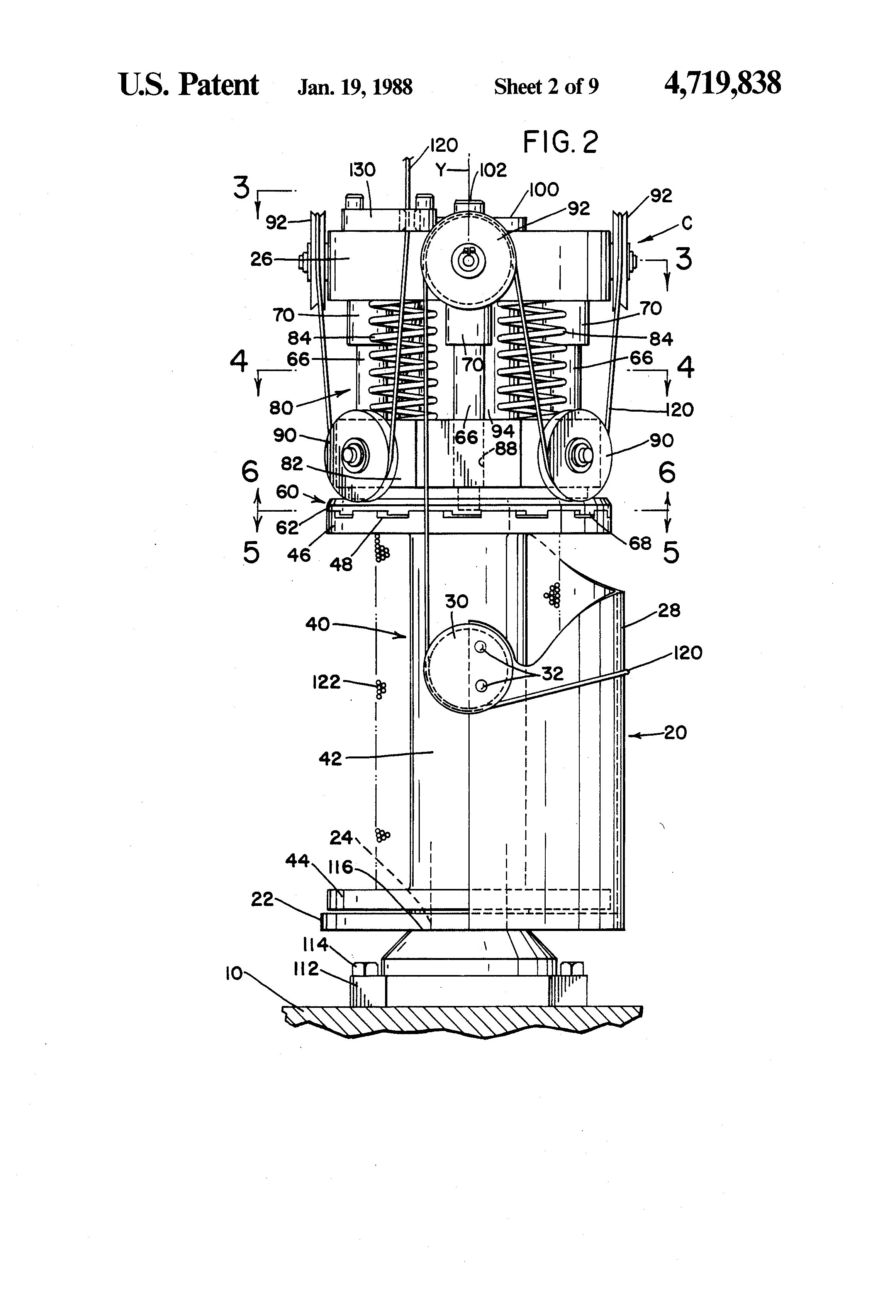Patent Us4719838 Strand Carrier For A Braiding Machine Google Ansul System Wiring Diagram Drawing