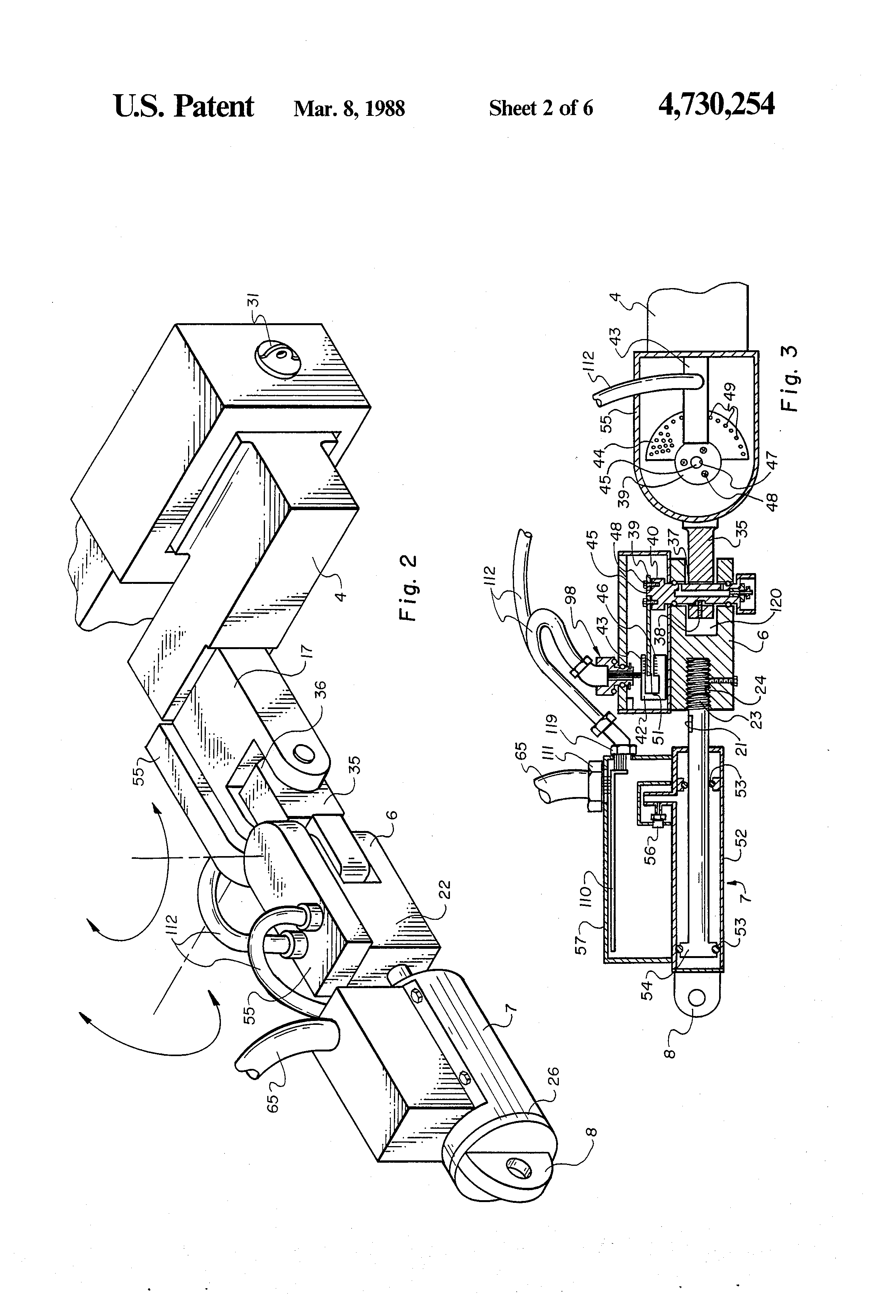 Patent Us4730254 Drill String Make Up And Breakout