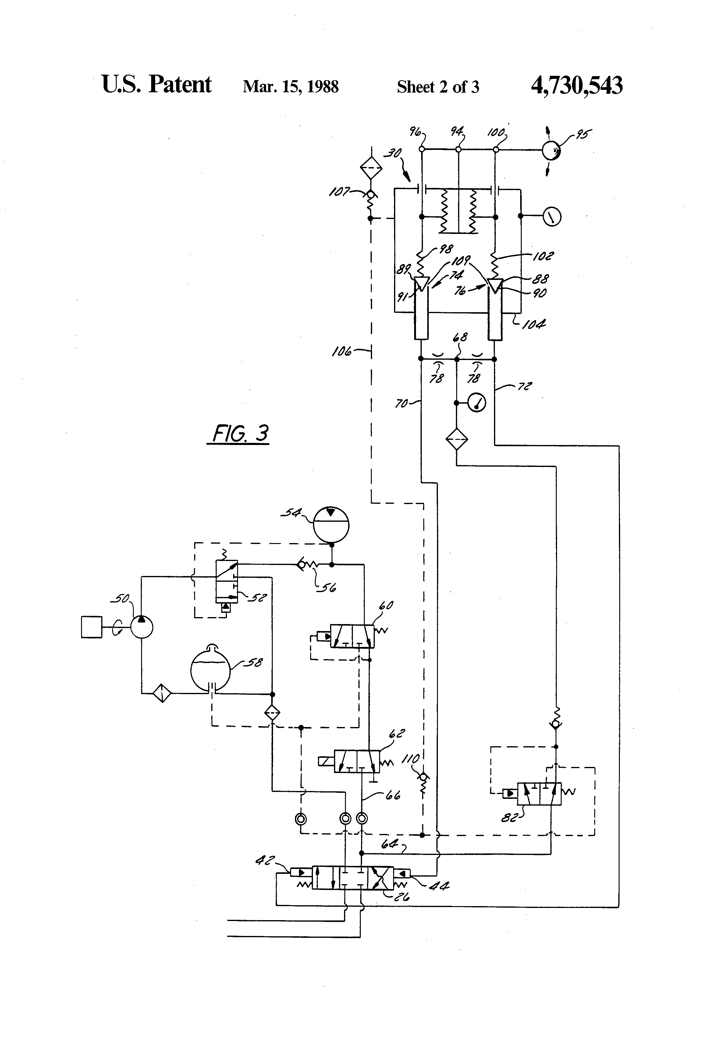 patent us4730543