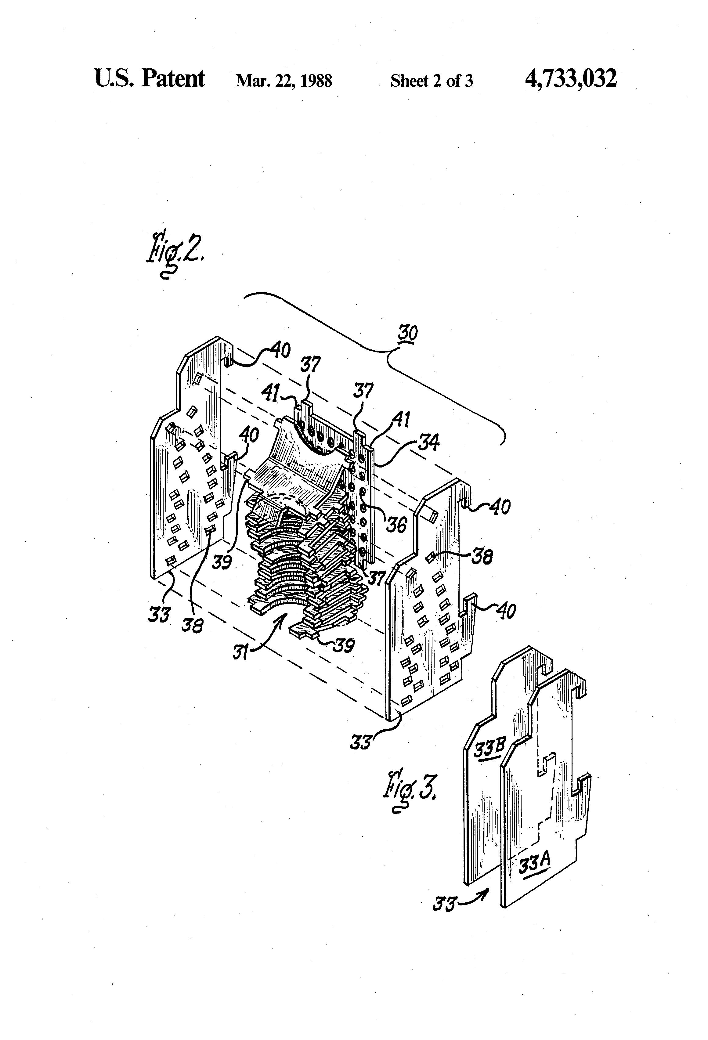 patent us4733032