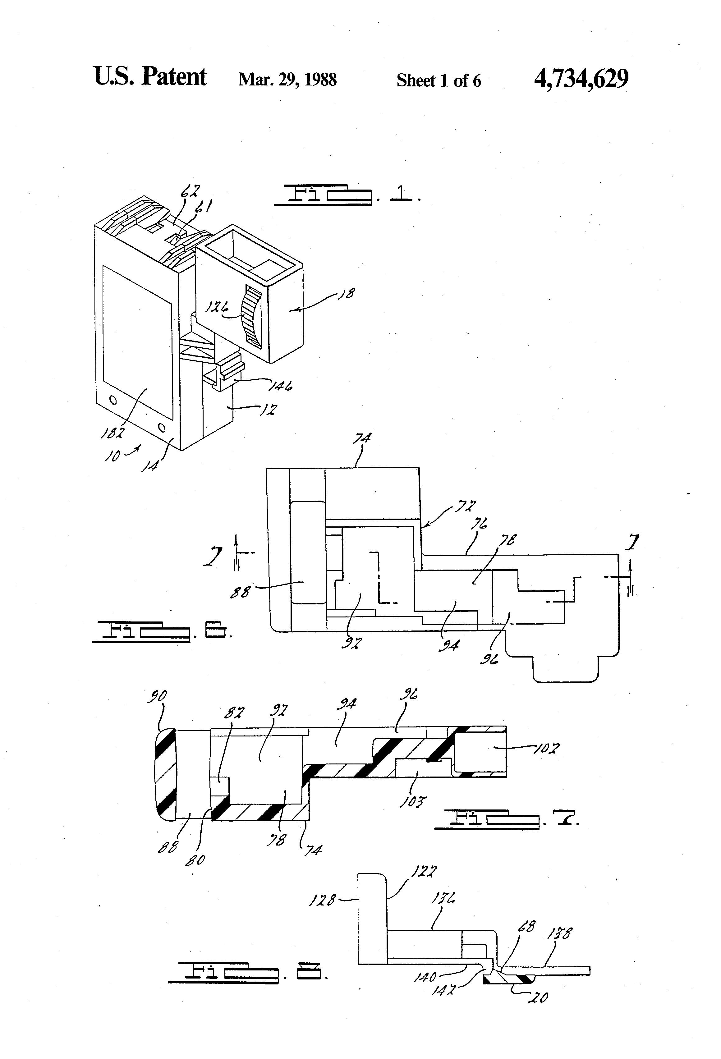 patent us4734629 variable speed trigger switch patents