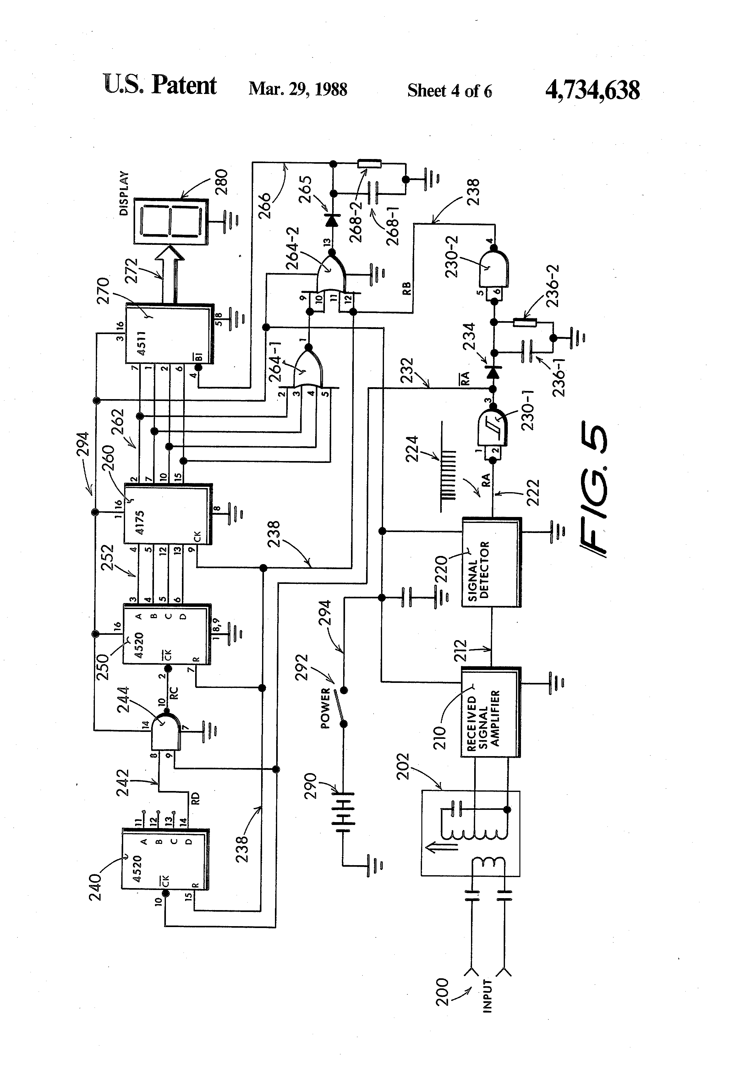 patent us4734638