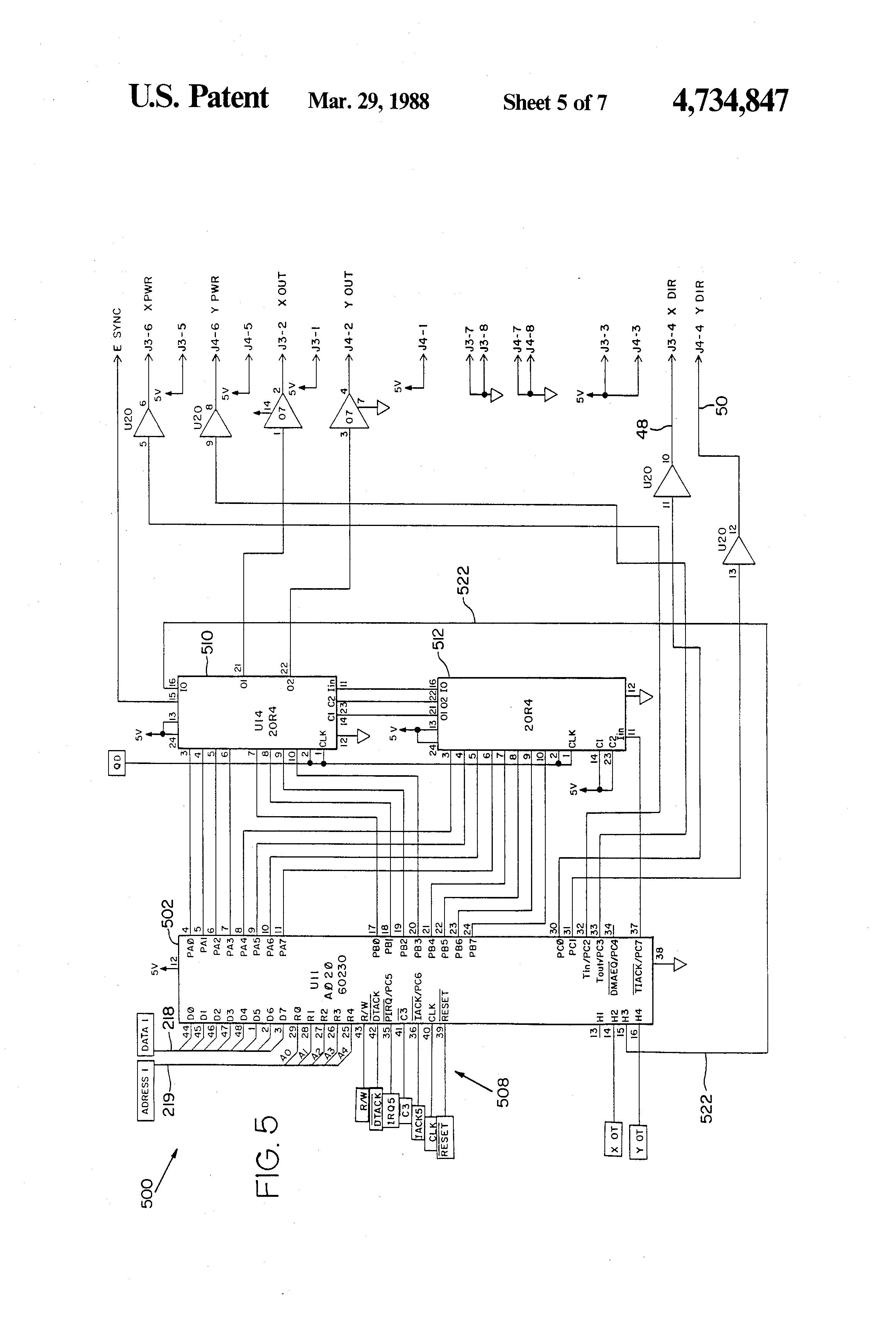patent us4734847