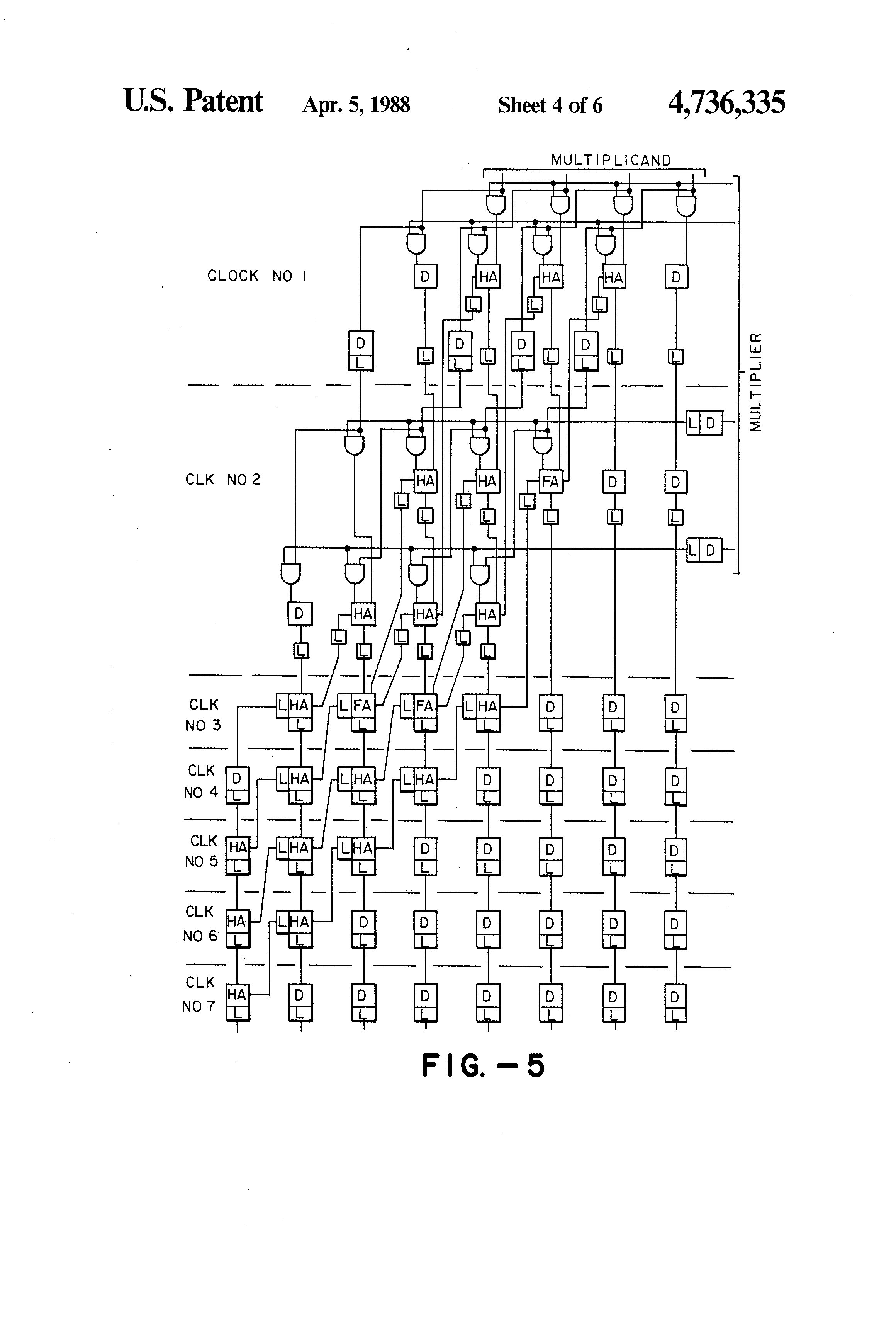 patent us4736335