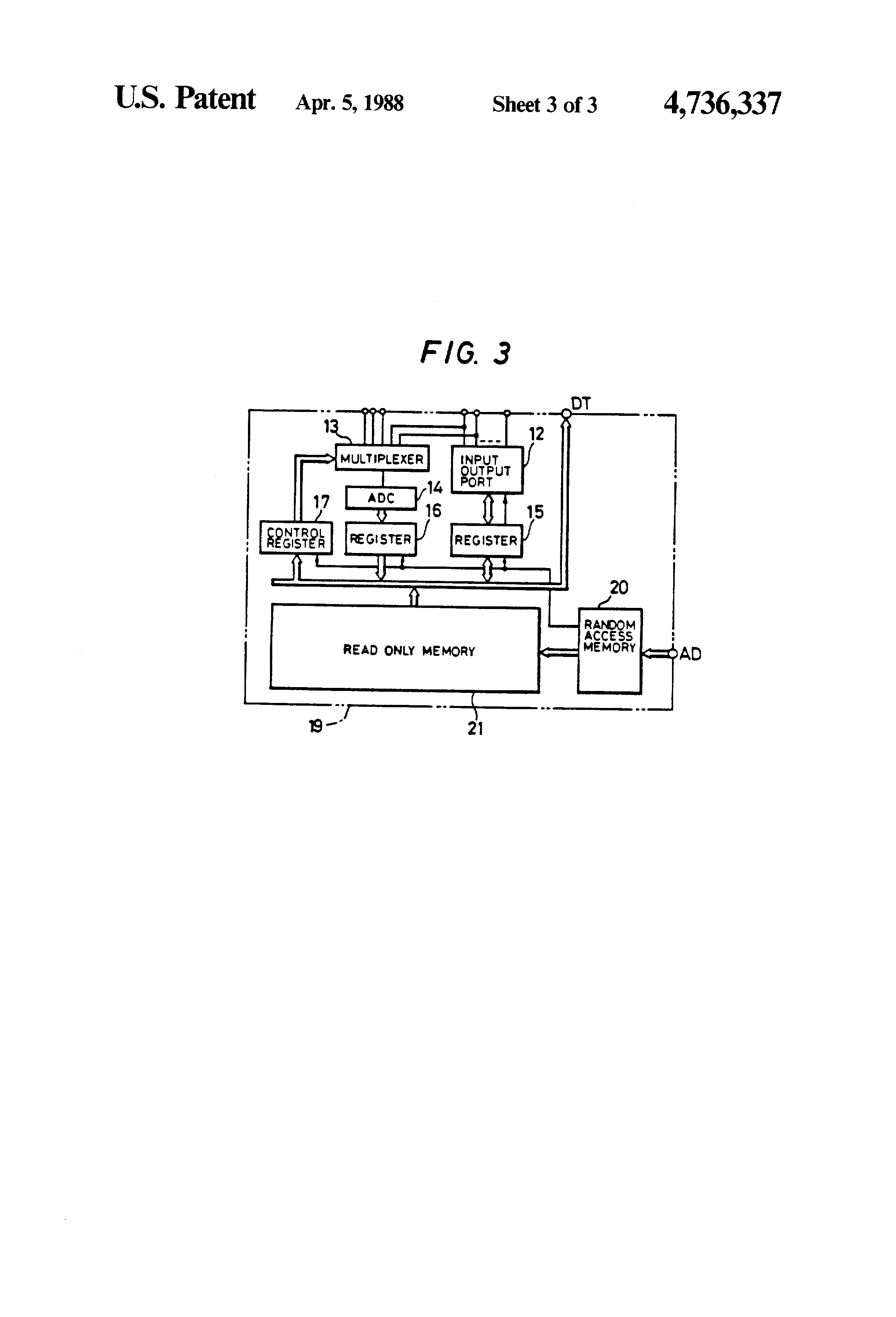 Patent Us4736337 Monolithic Integrated Circuit Having Common 12 Volt Latching Relay Diagram Likewise Starter Kill Drawing