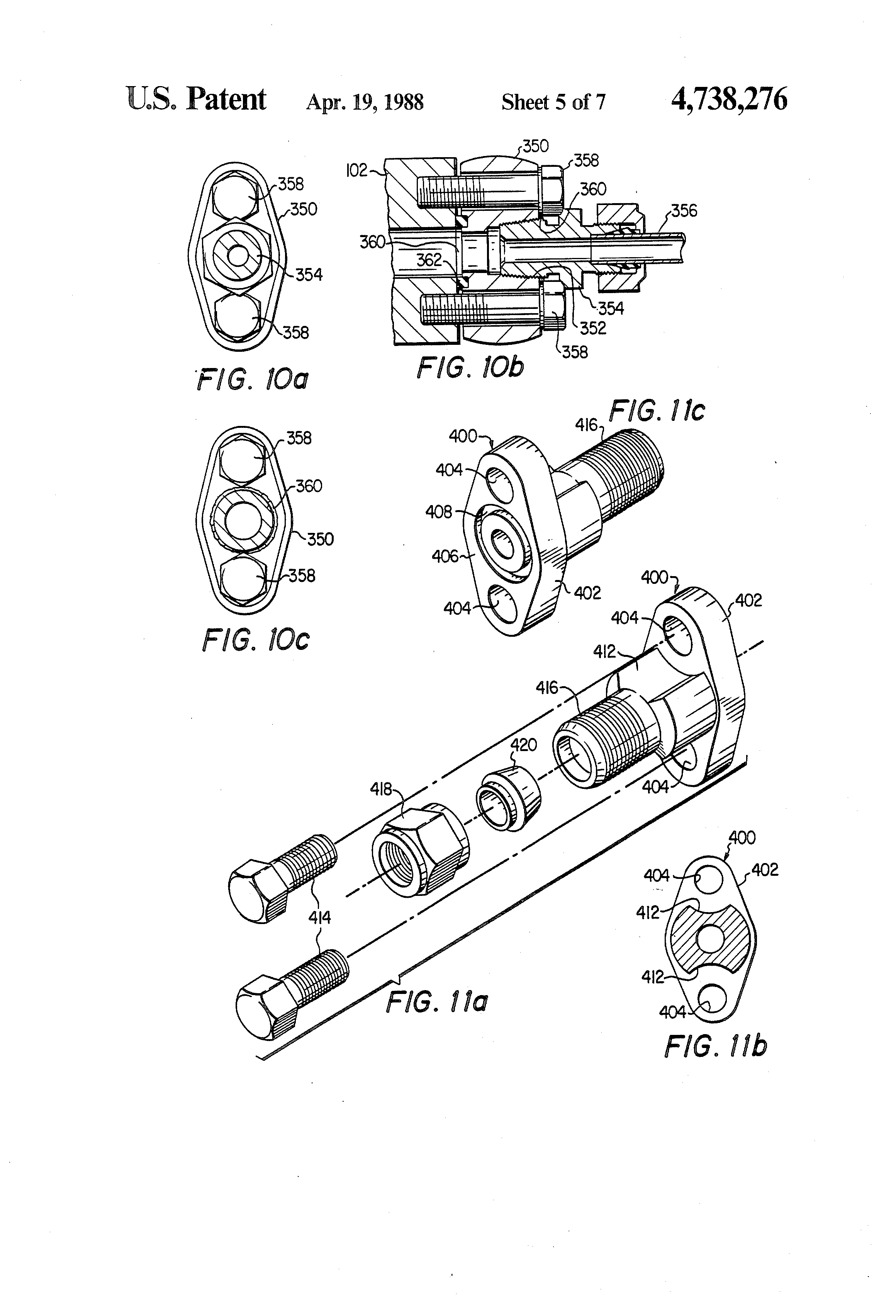 patent us4738276  manifold for a fluid conveying