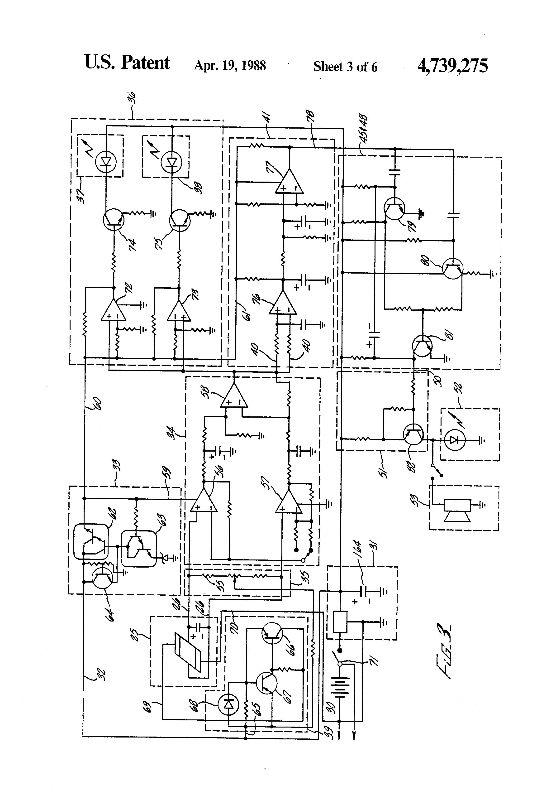 patent us4739275 - dc ground fault detection