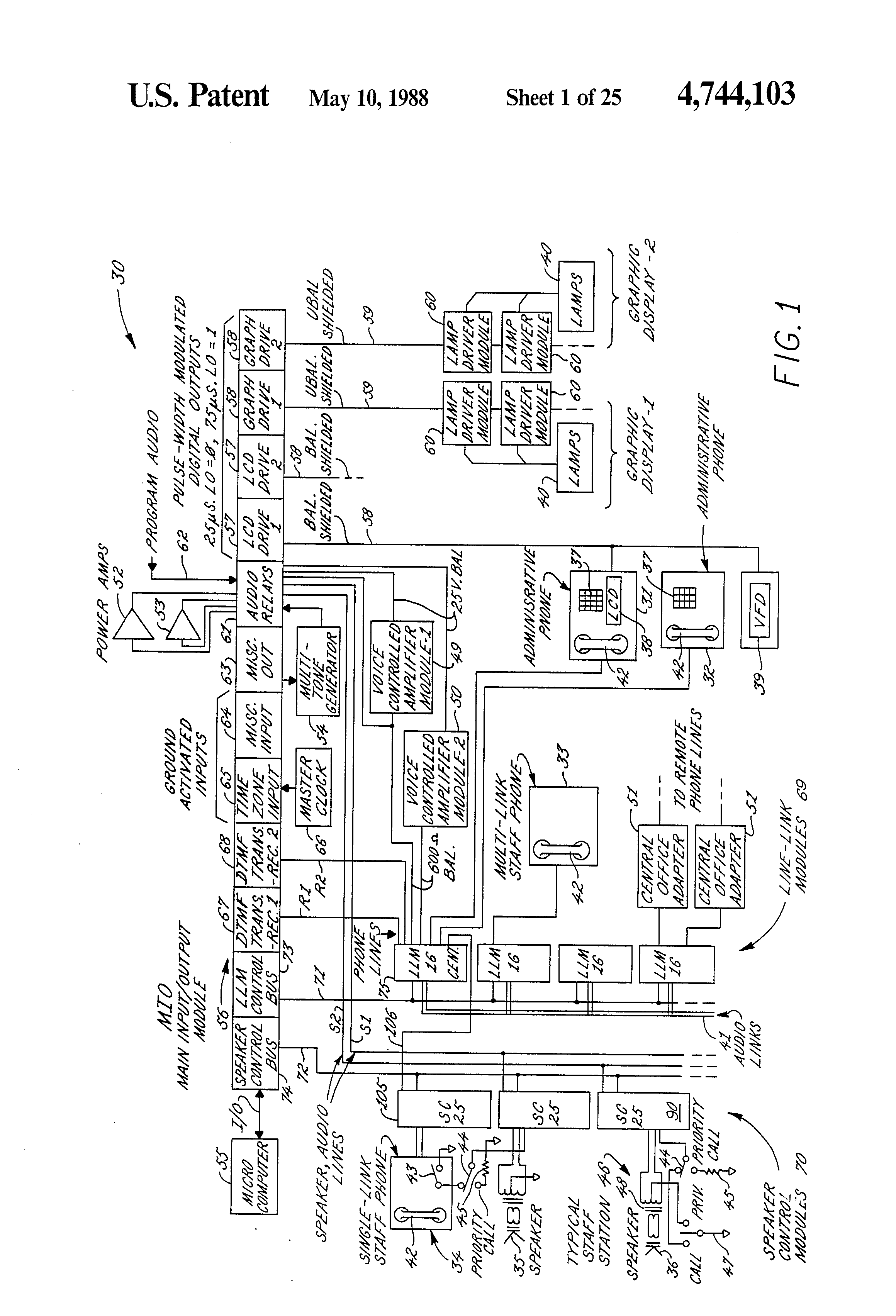 Paging System Wiring Diagram on Dukane Inter Speaker Wiring Diagram