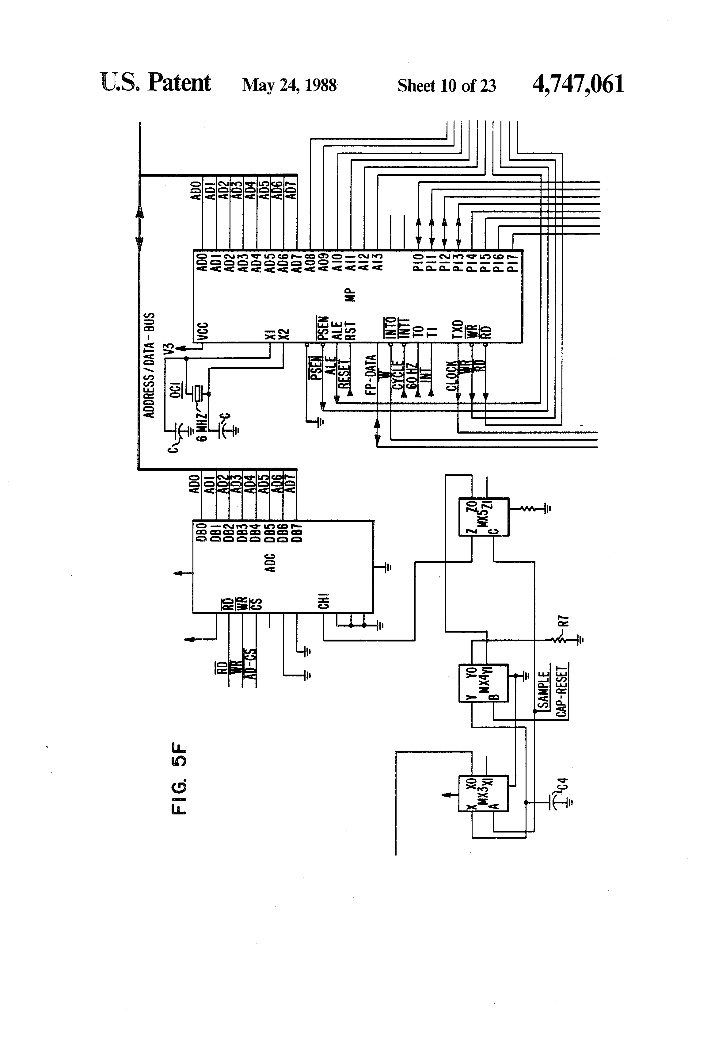 patent us4747061 automatic transfer switch for a wide range of patent drawing