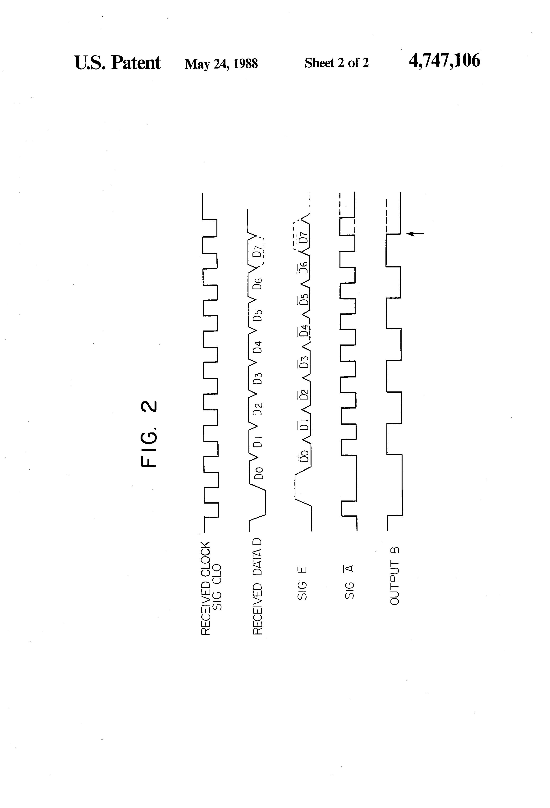 patent us4747106 - parity checker circuit
