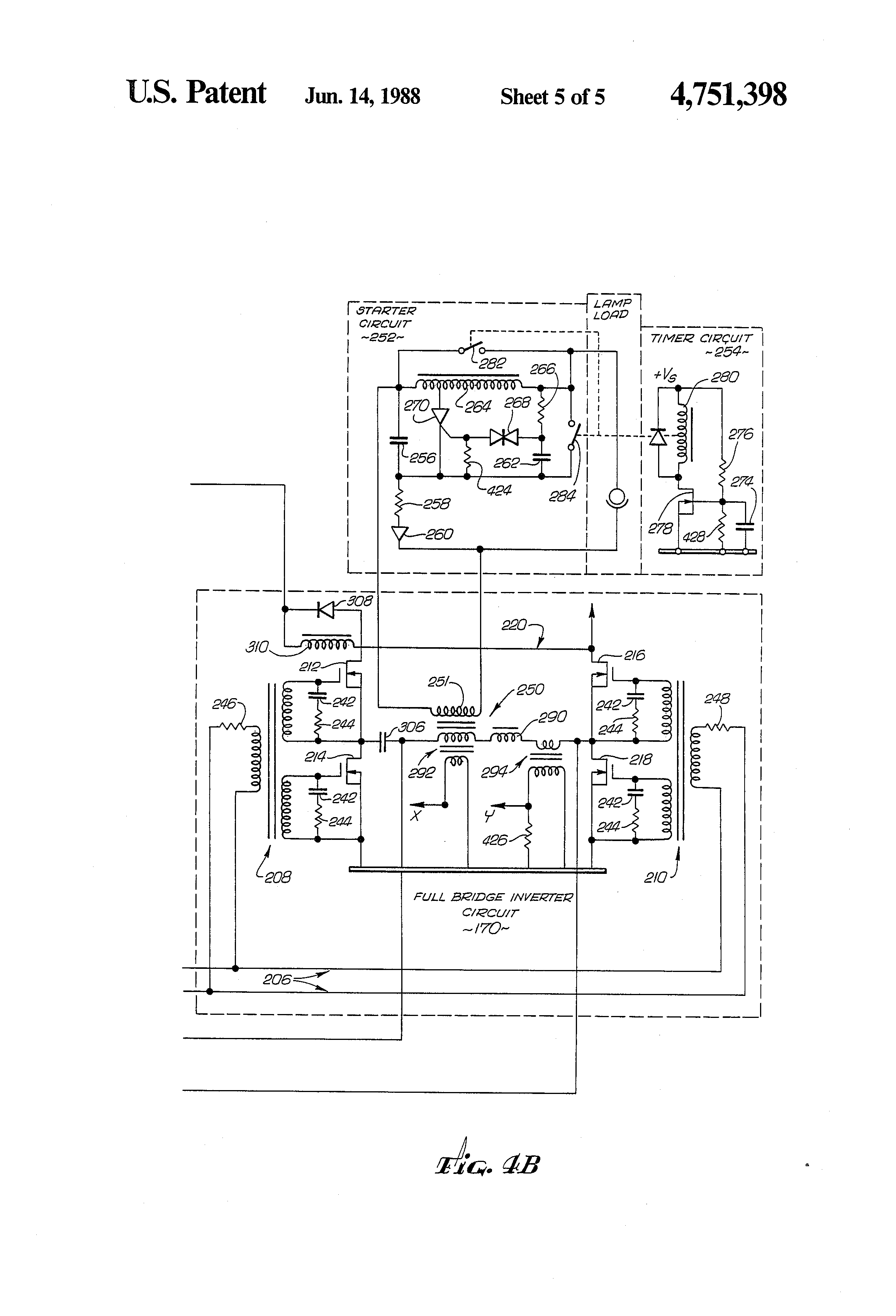 patent us4751398 lighting system for normal and emergency patent drawing