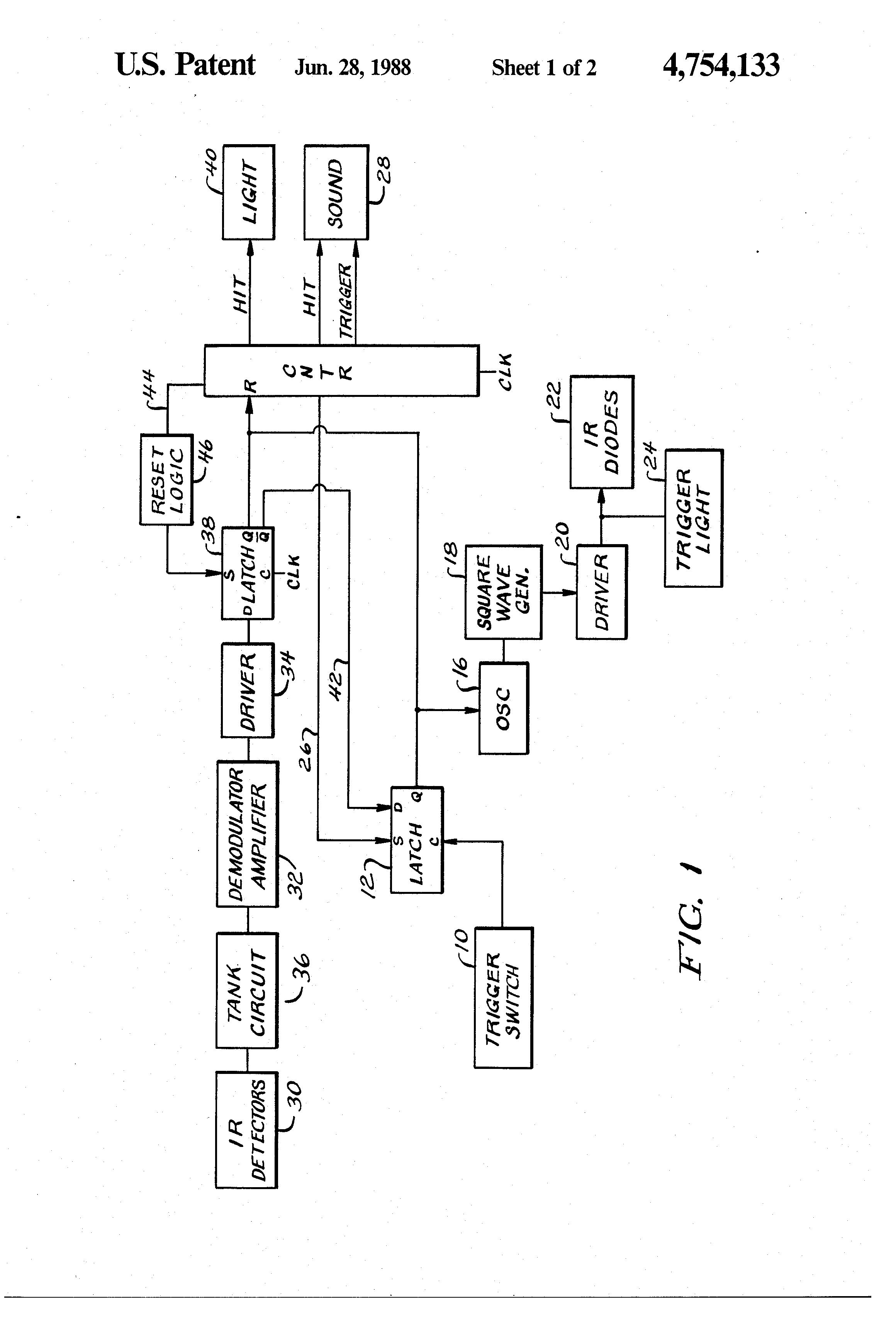 patent us4754133