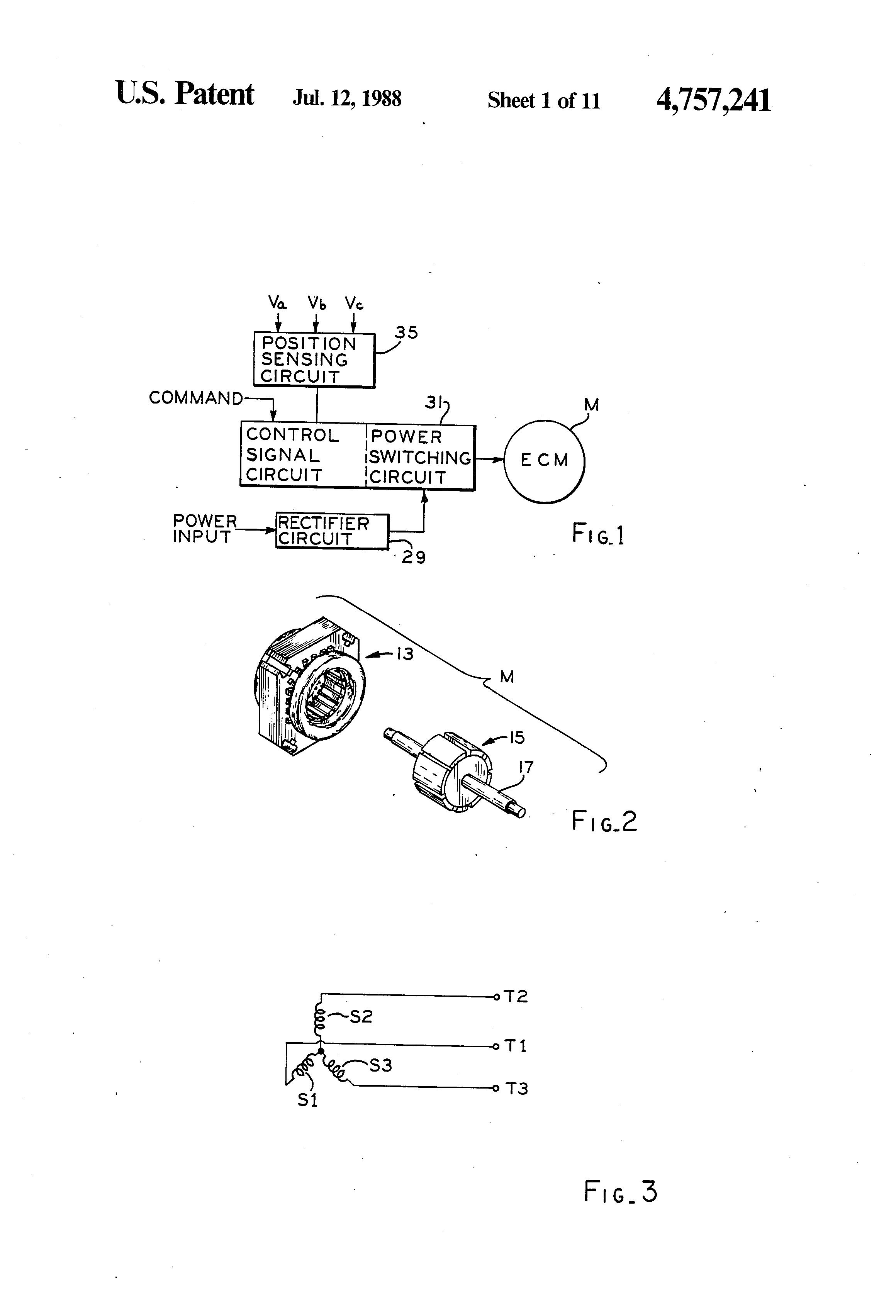 ecm motor control circuit