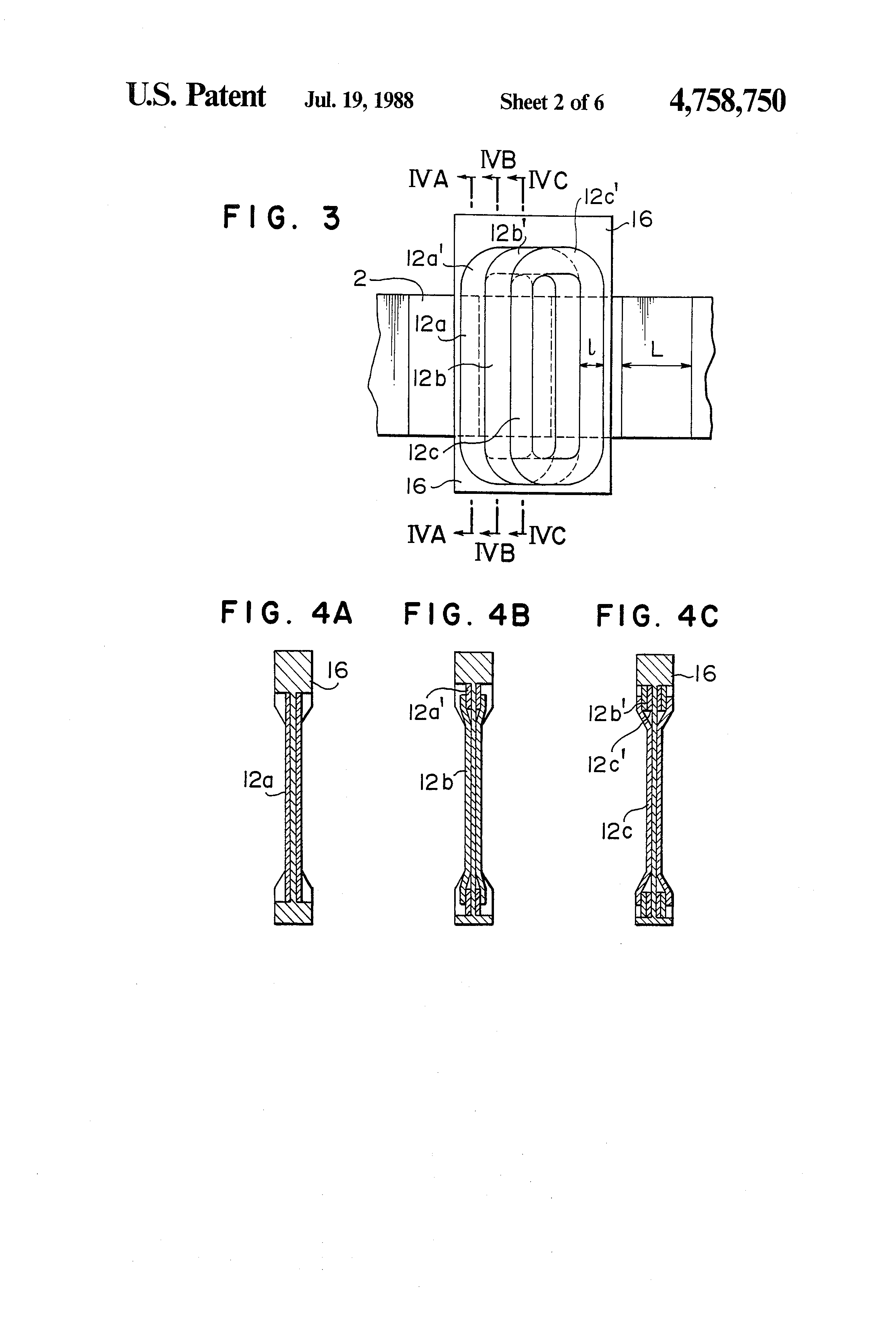 Patent Us4758750 Linear Motor Of Moving Coil Type