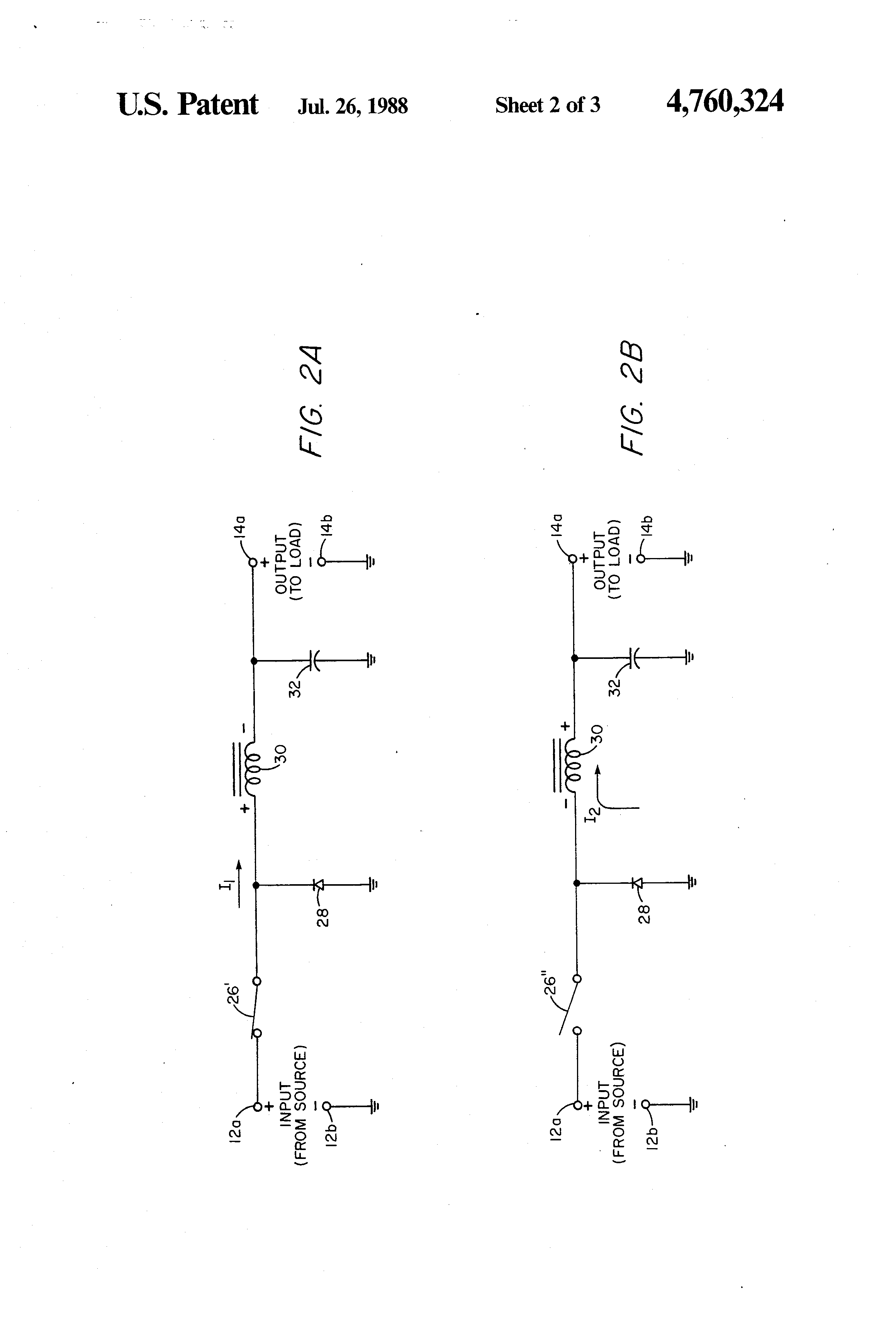 Switching Power Supply With A Snubber Circuit Getting Ready Switchingpowersupplyblockdiagram Diagram Patent Us4760324 Non Dissipative For Block Symbols