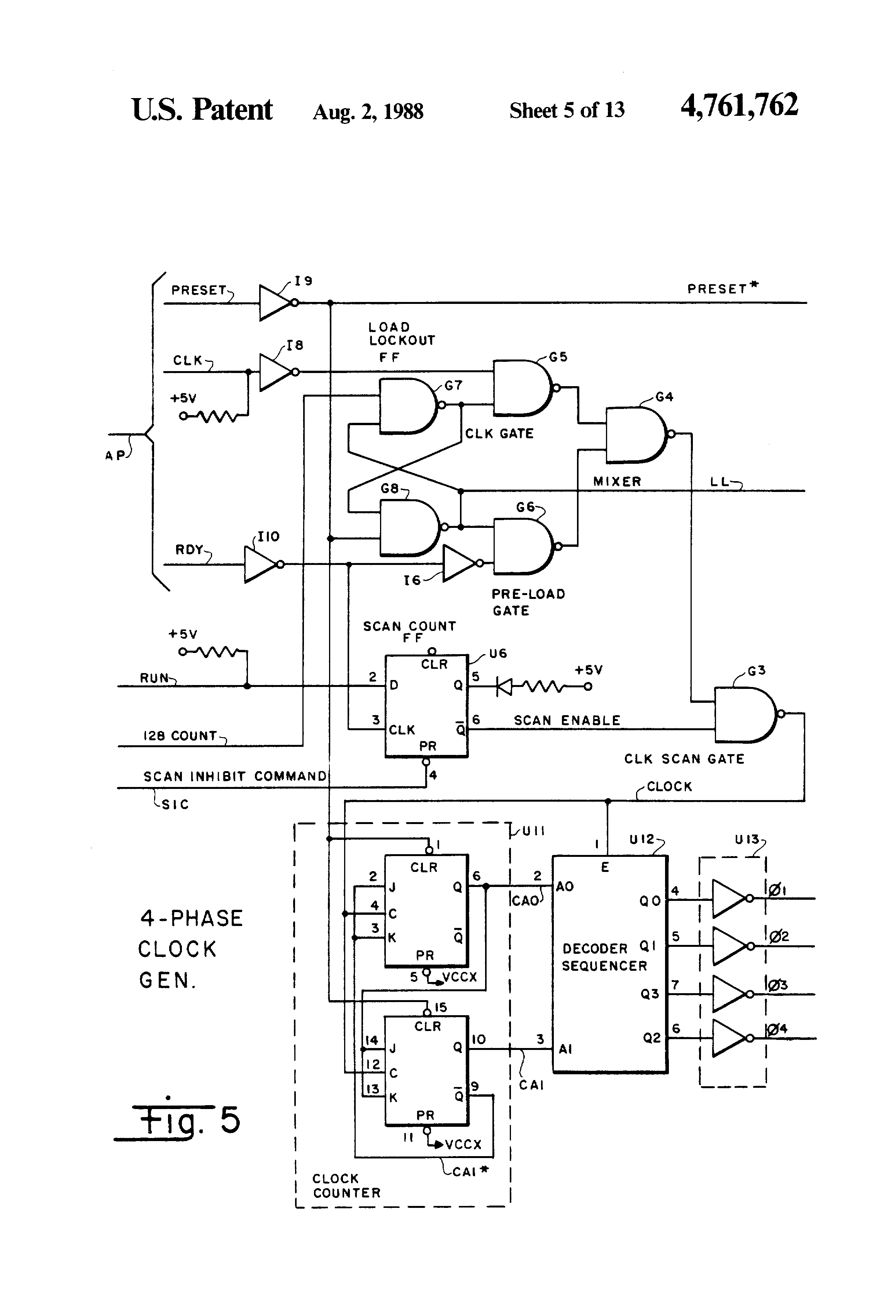 patent us4761762