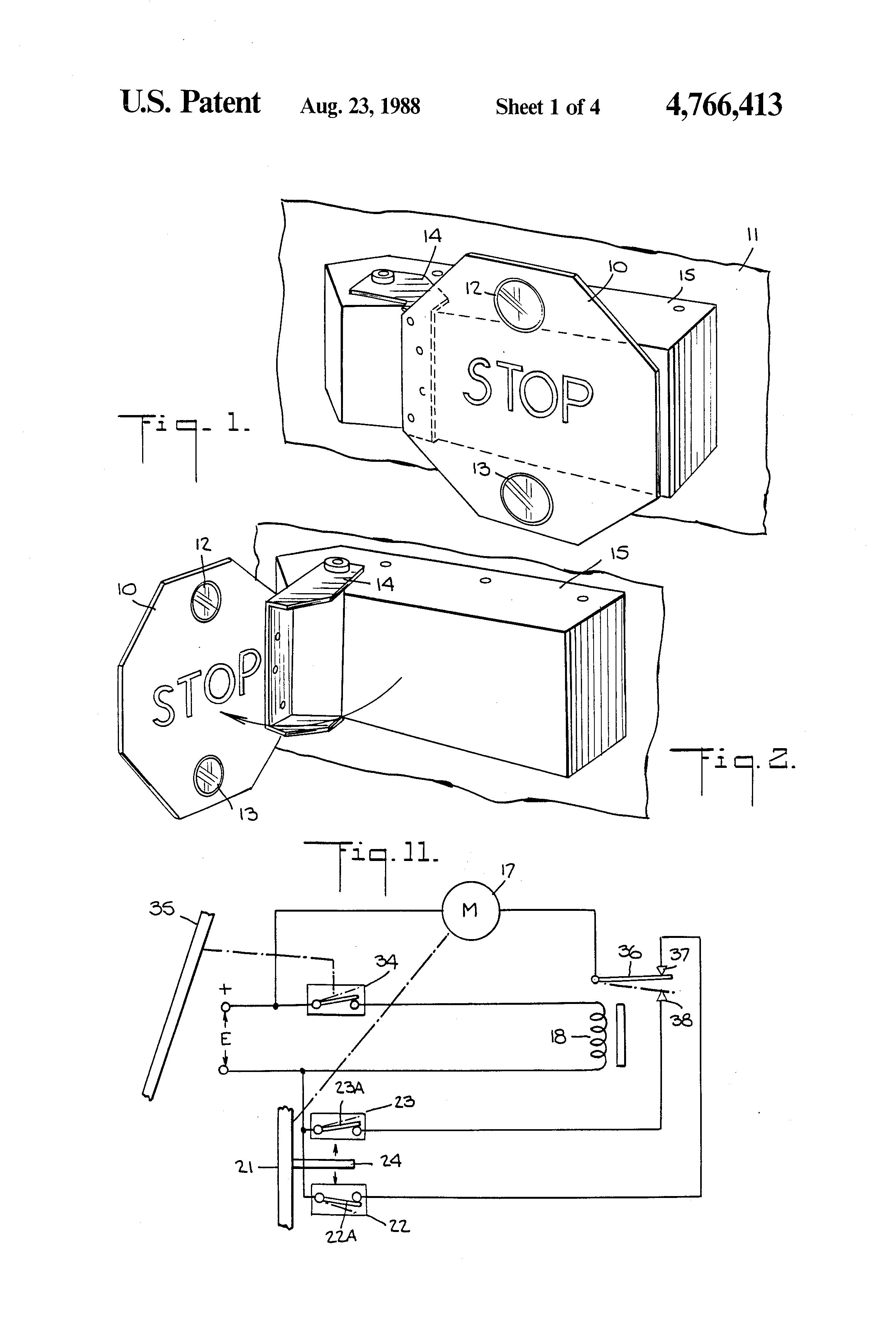 US4766413 1 patent us4766413 school bus stop sign control apparatus google  at readyjetset.co