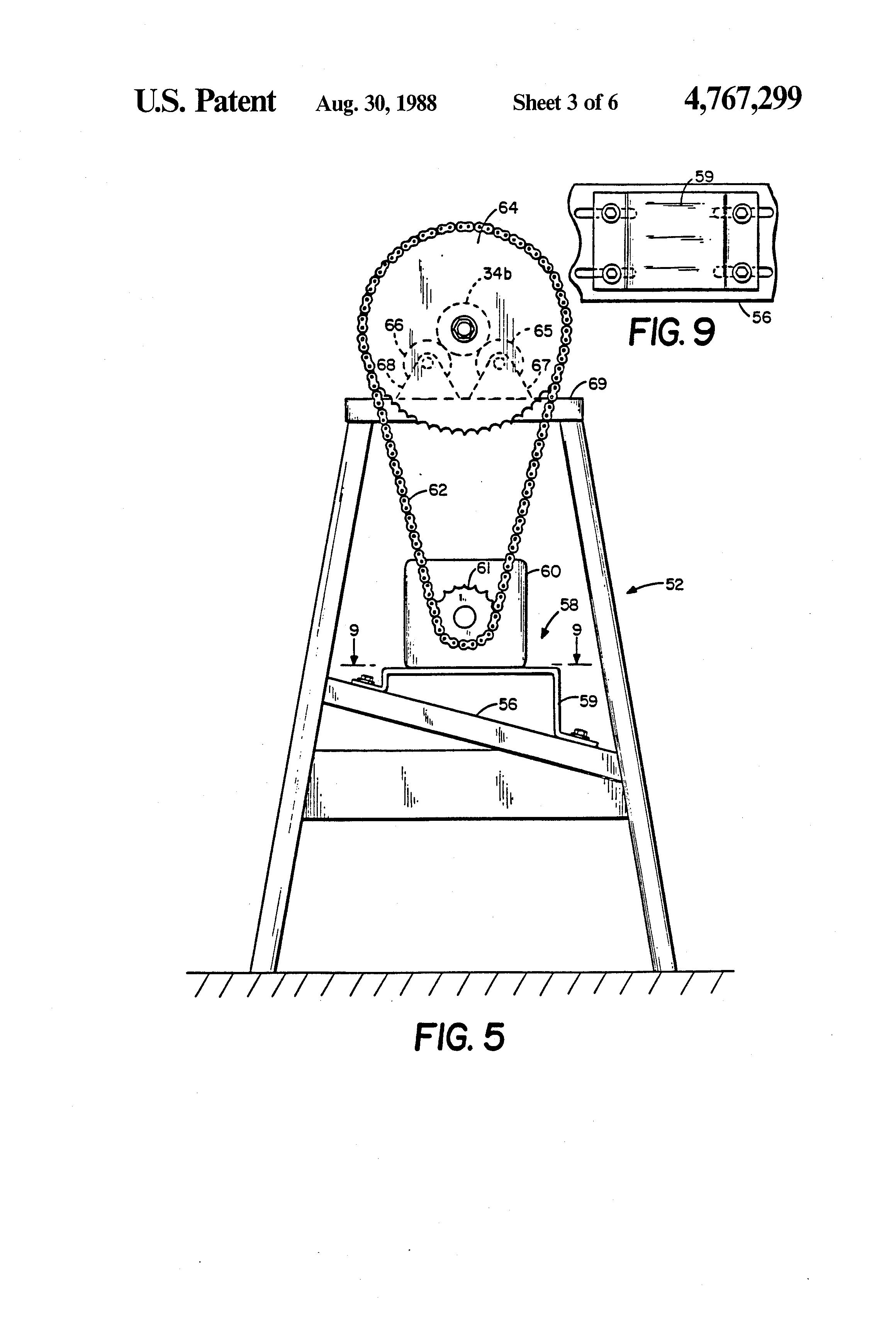 rotation moulding machine
