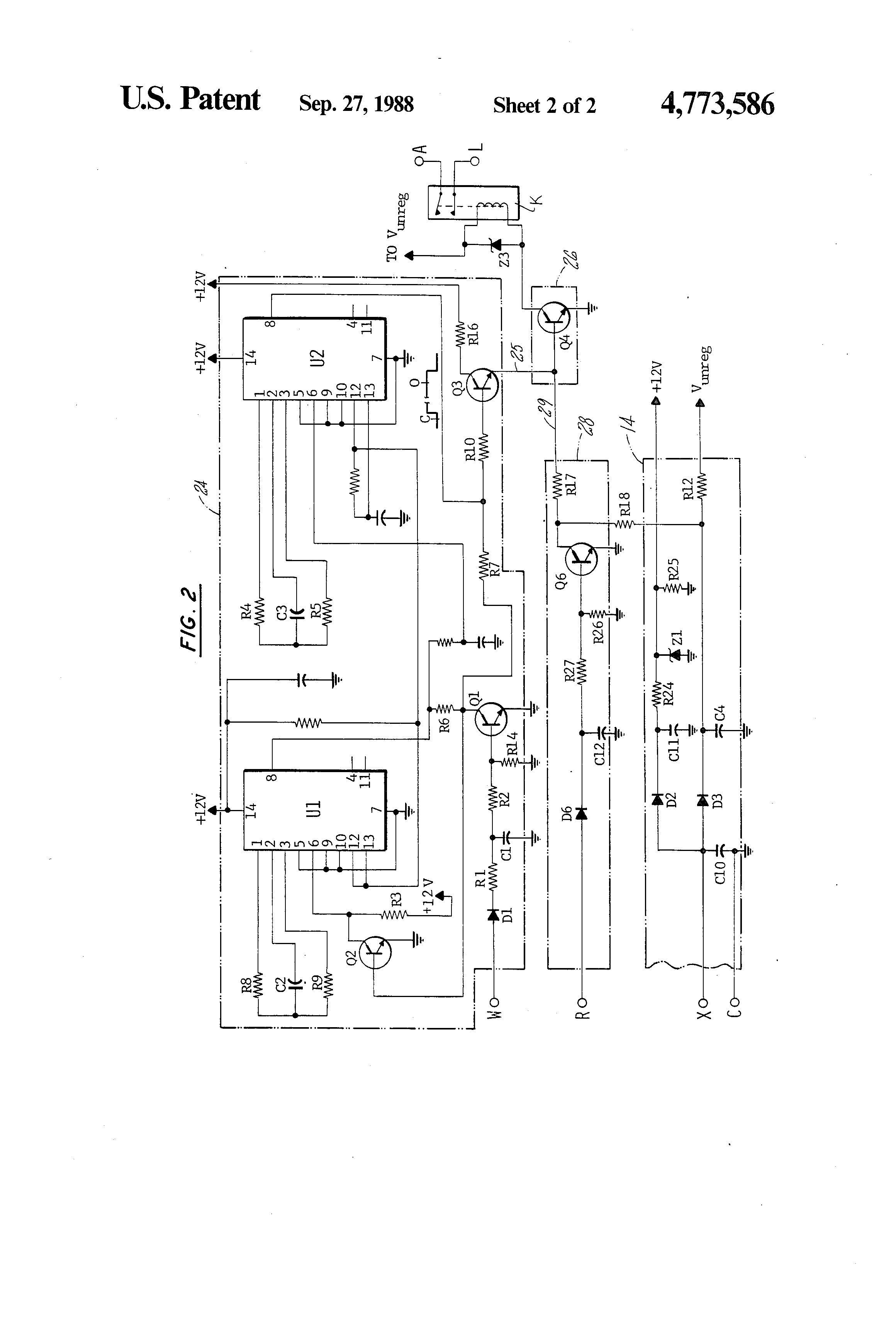 US4773586 2 patent us4773586 blower control circuit for a furnace google camstat wiring diagram at sewacar.co